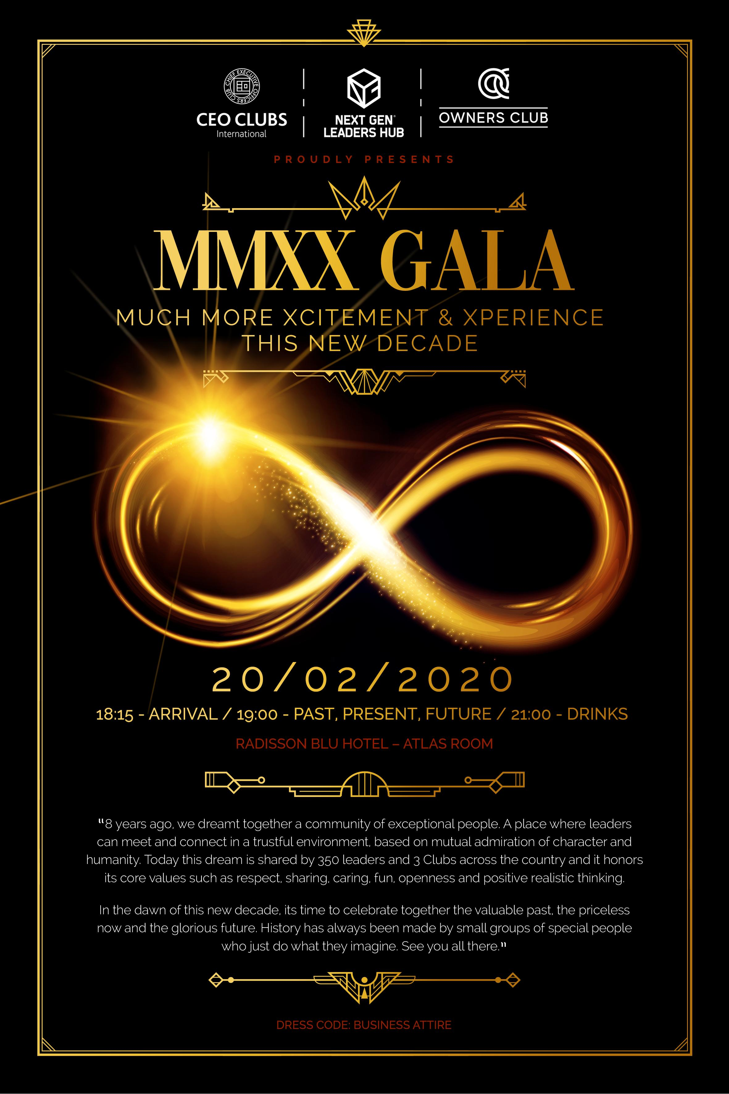MMXX GALA: The Celebration of the Past, Present & Future