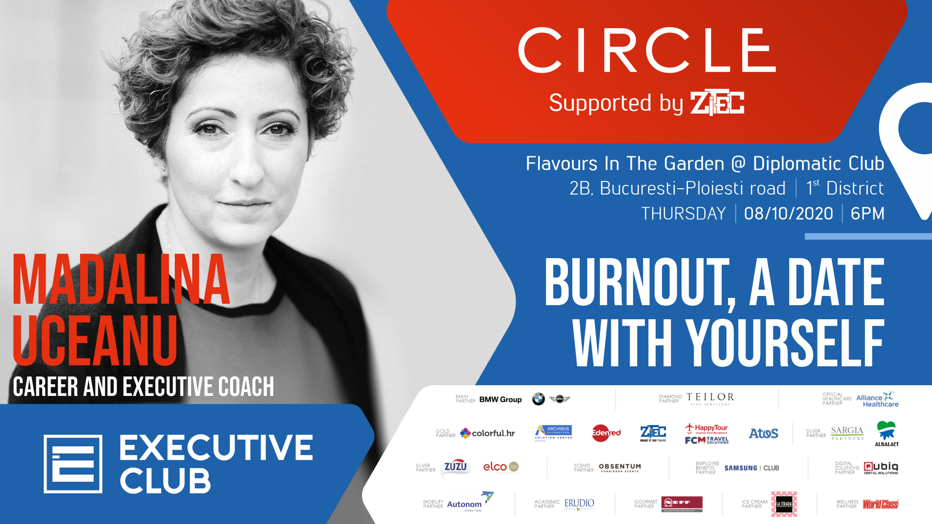 Executive Club Circle: Burnout, a date with yourself