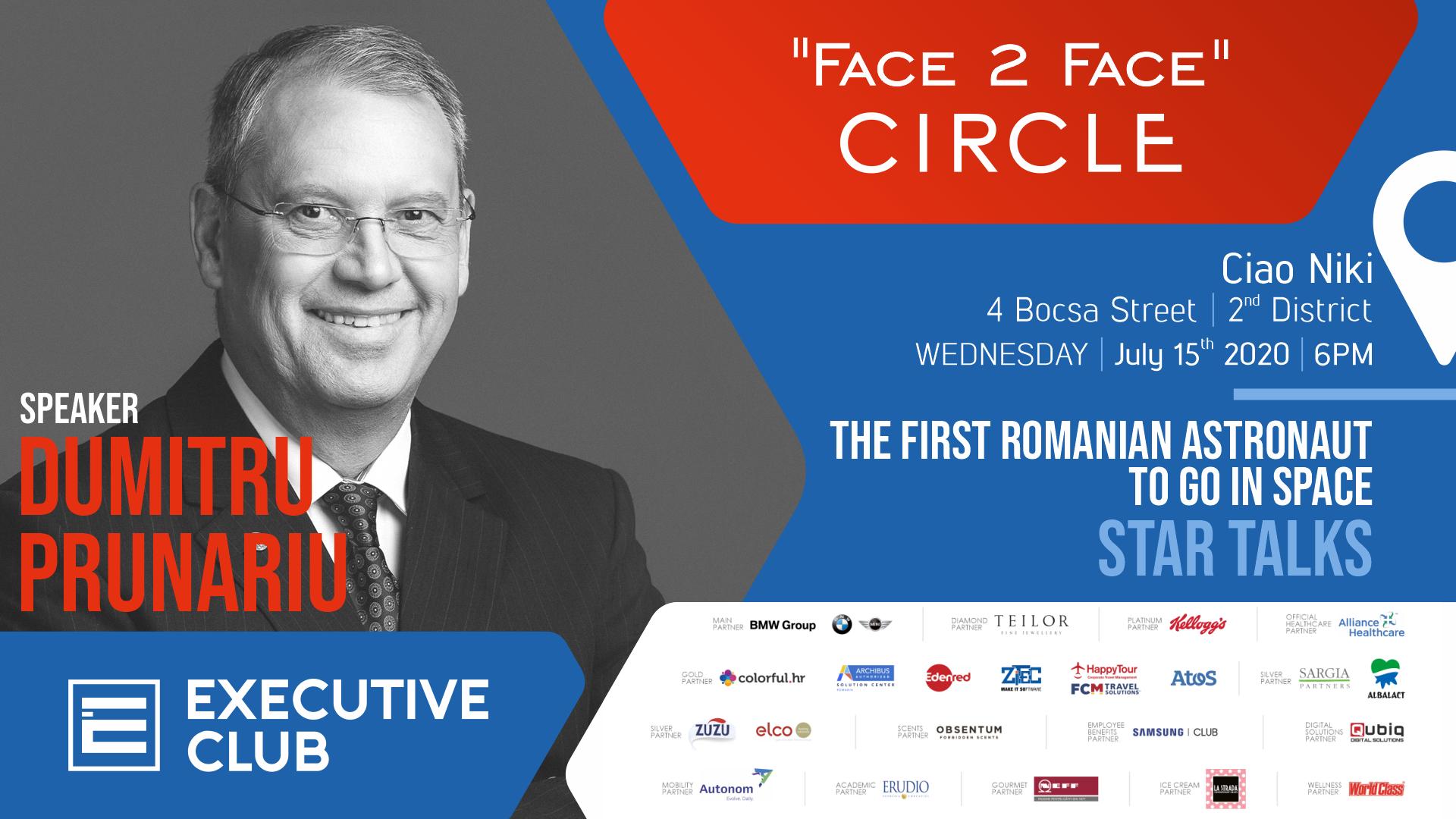 """Face 2 Face"" Executive Club Circle - Star Talks"