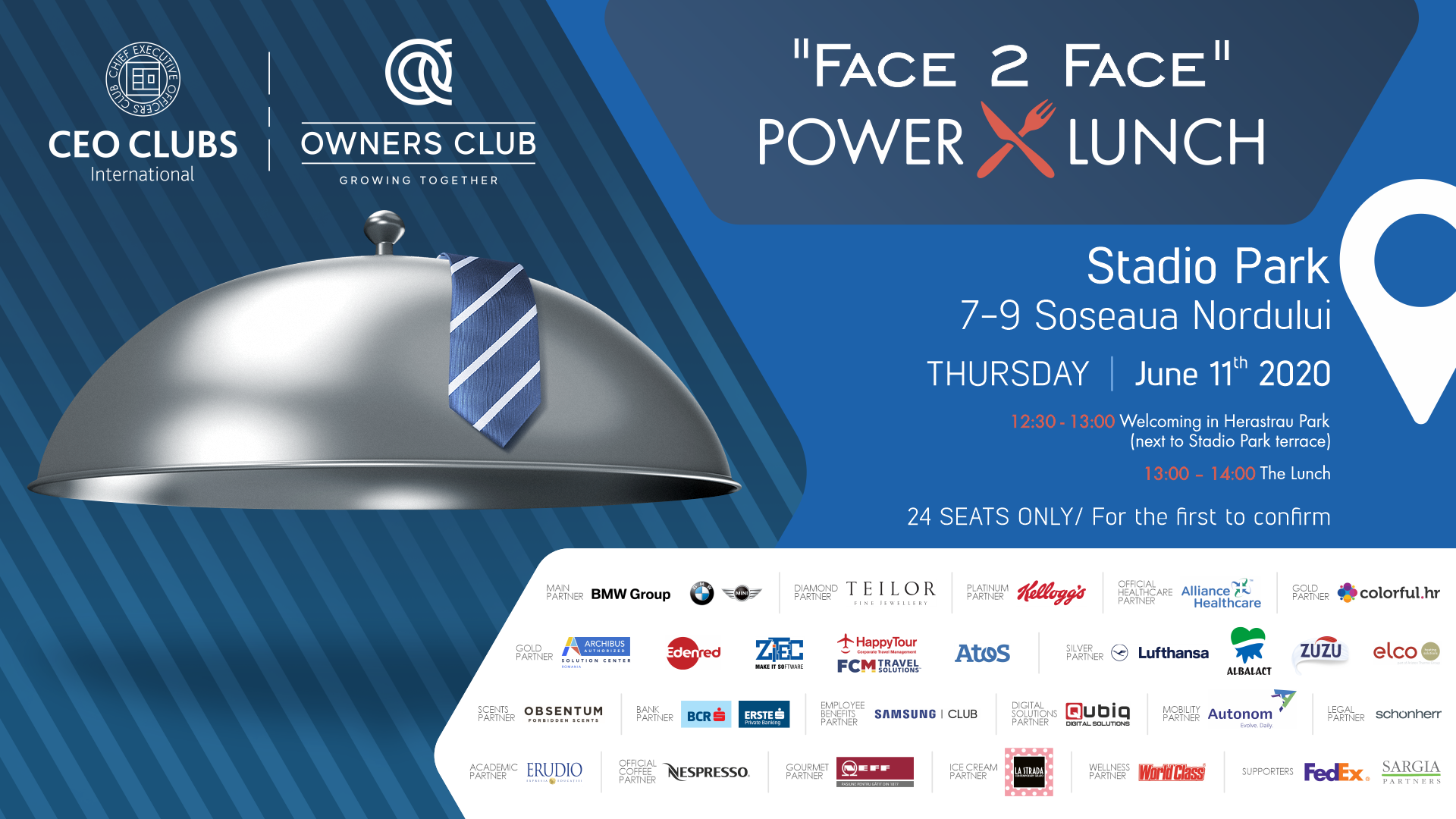"""""""Face 2 Face"""" Power Lunch"""
