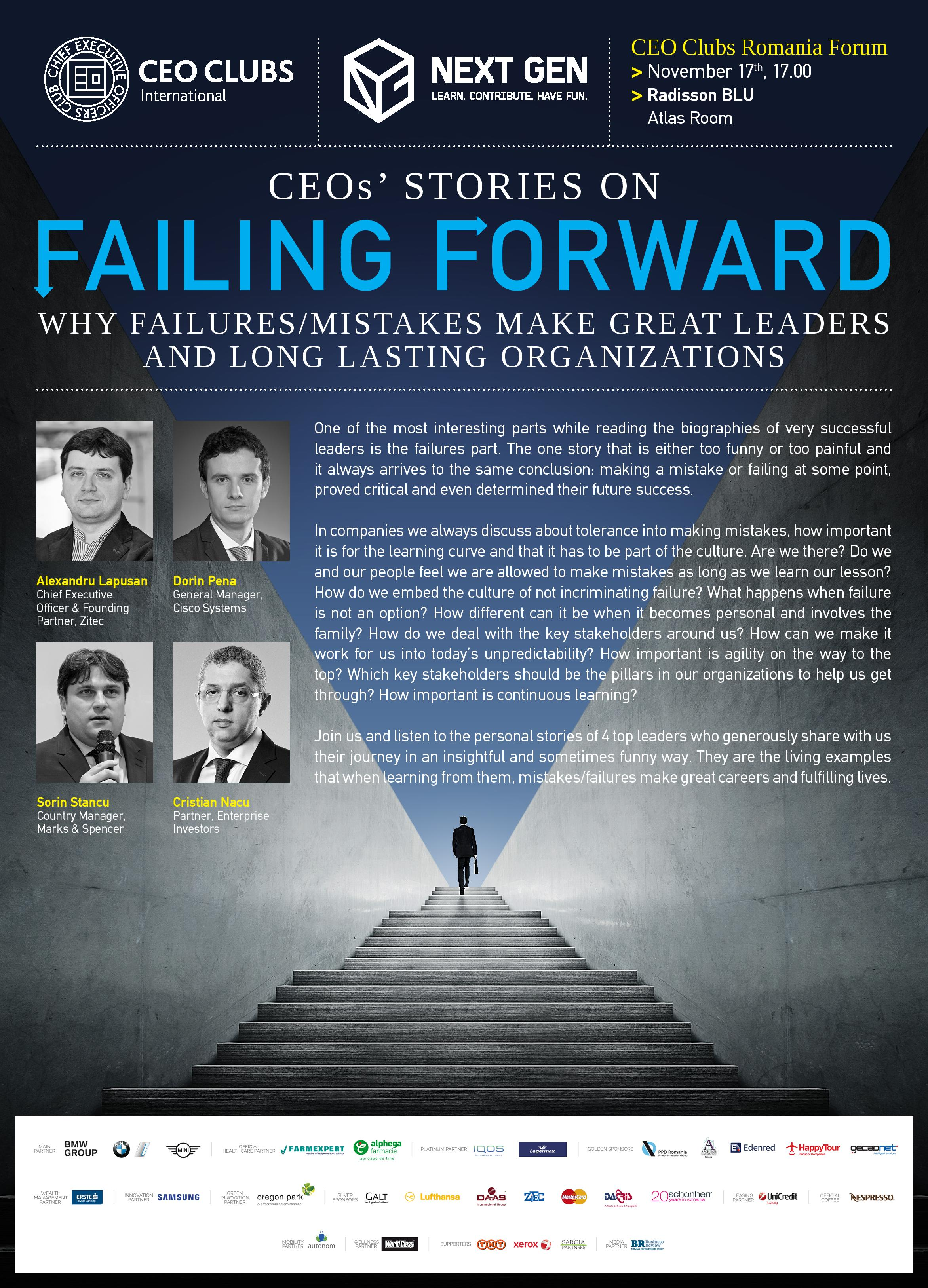 10th Forum: Failing Forward