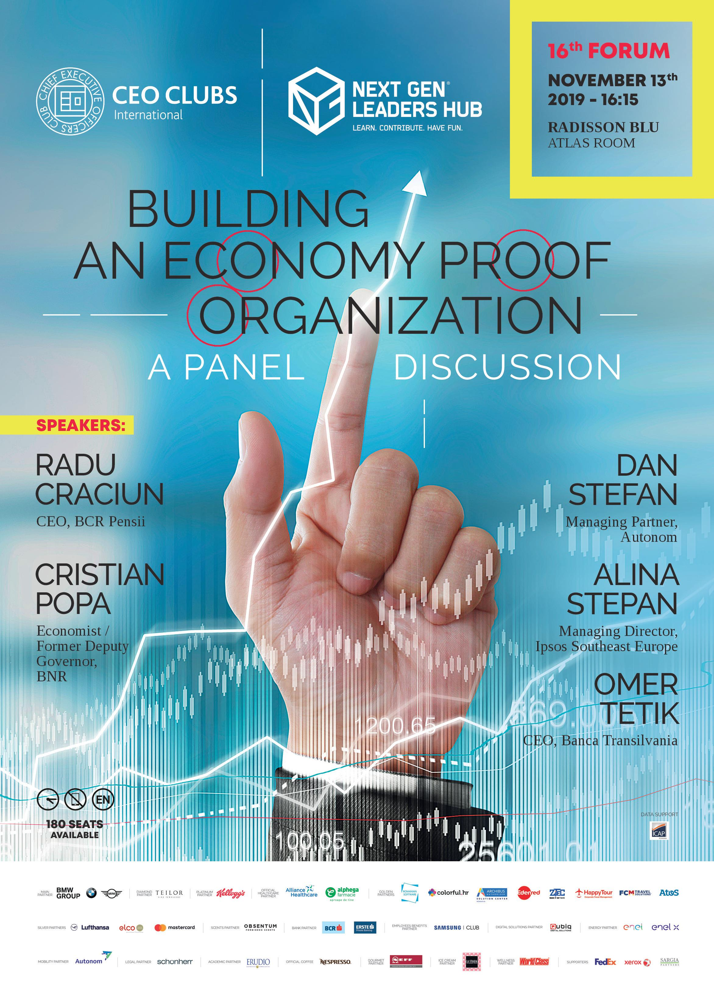 16th Forum: Building an Economy Proof Organization – A Panel Discussion