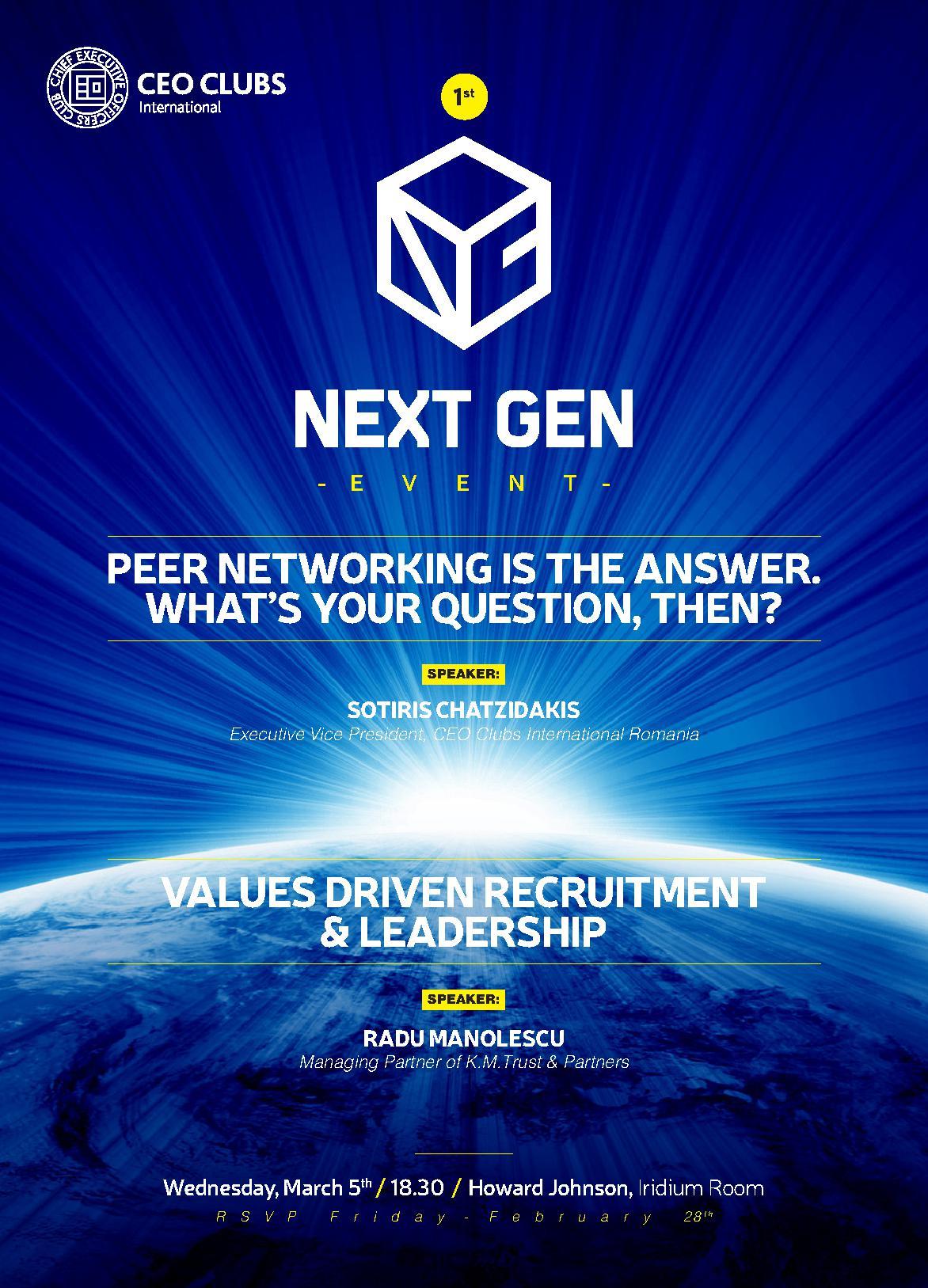 1st Next Gen Event