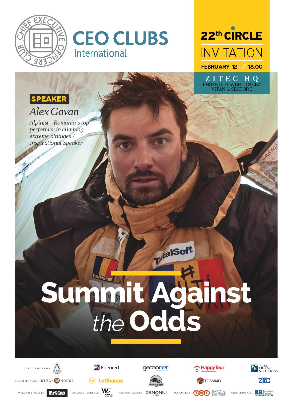 22nd Circle: Summit Against the Odds