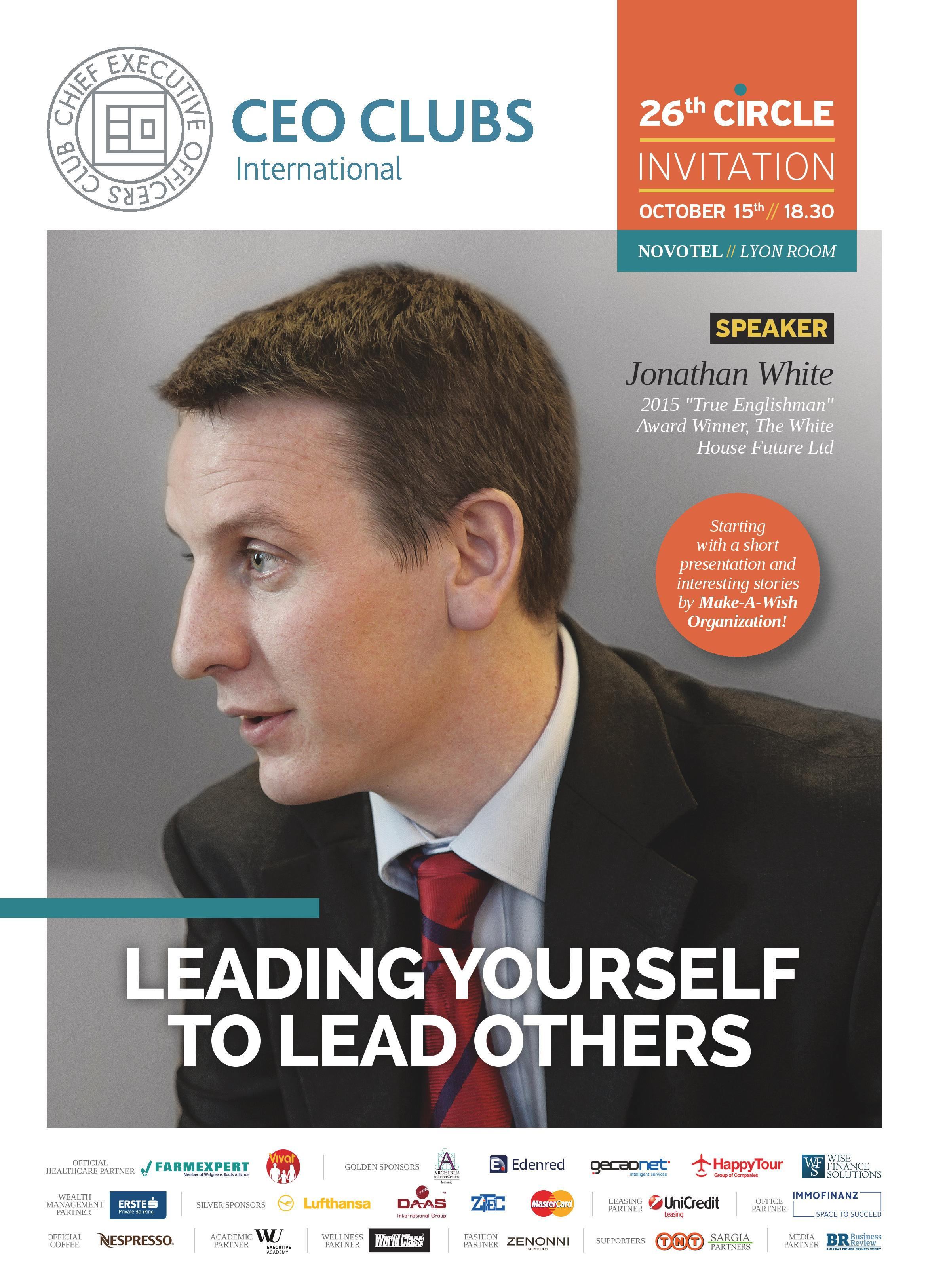 26th Circle: Leading yourself to Lead others