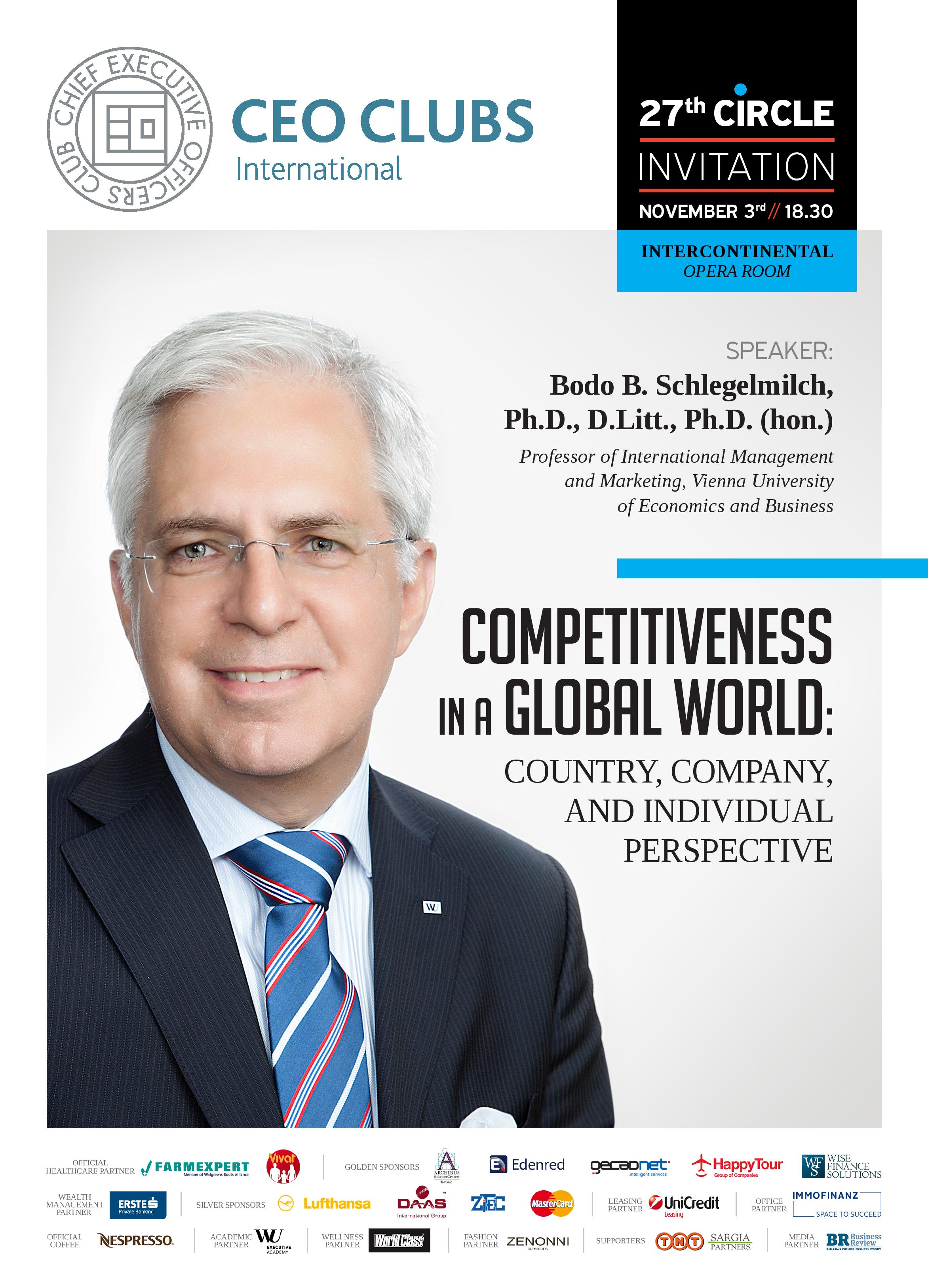 27th Circle: Competitiveness in a Global World