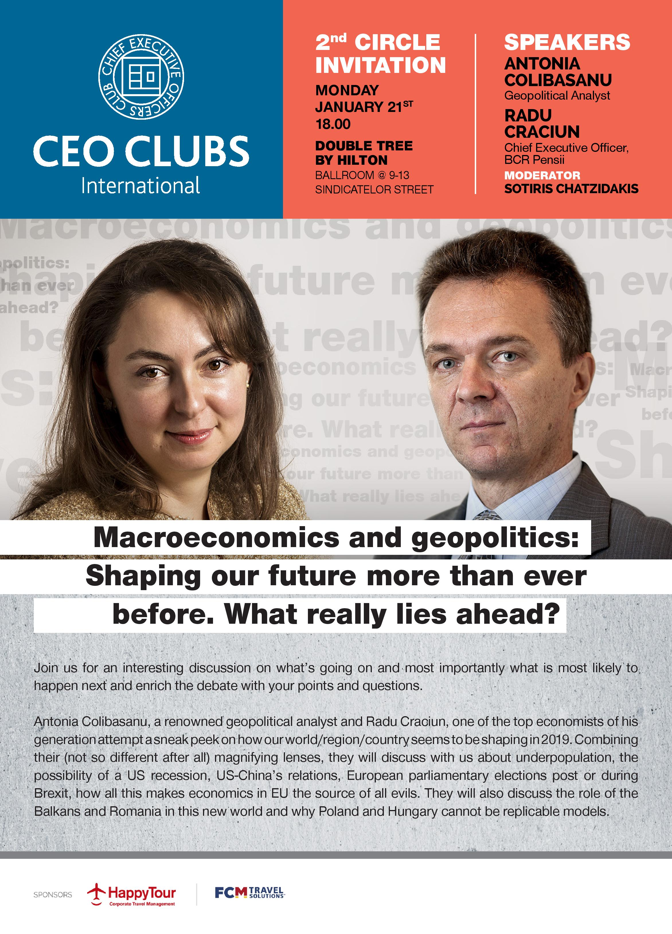 2nd Circle: Macroeconomics and geopolitics: Shaping our future more than ever before. What really lies ahead?