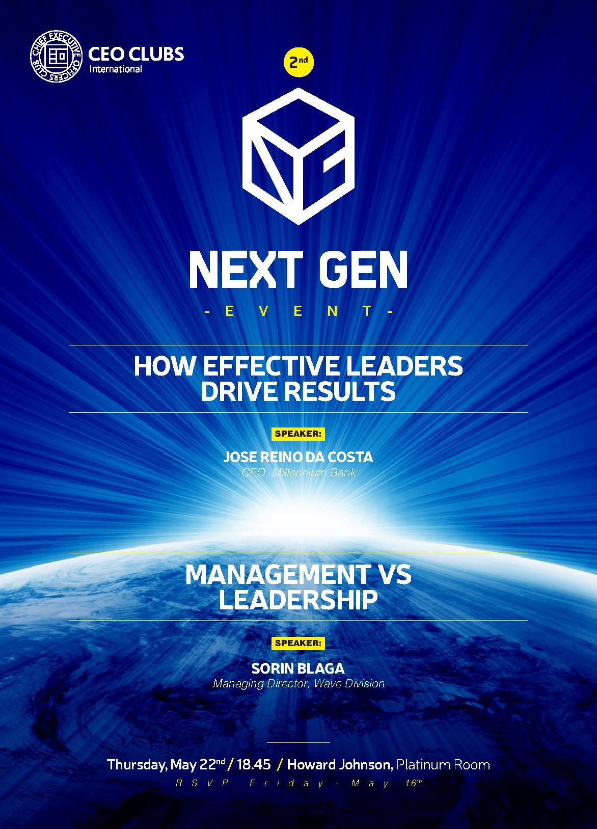2nd Next Gen Event