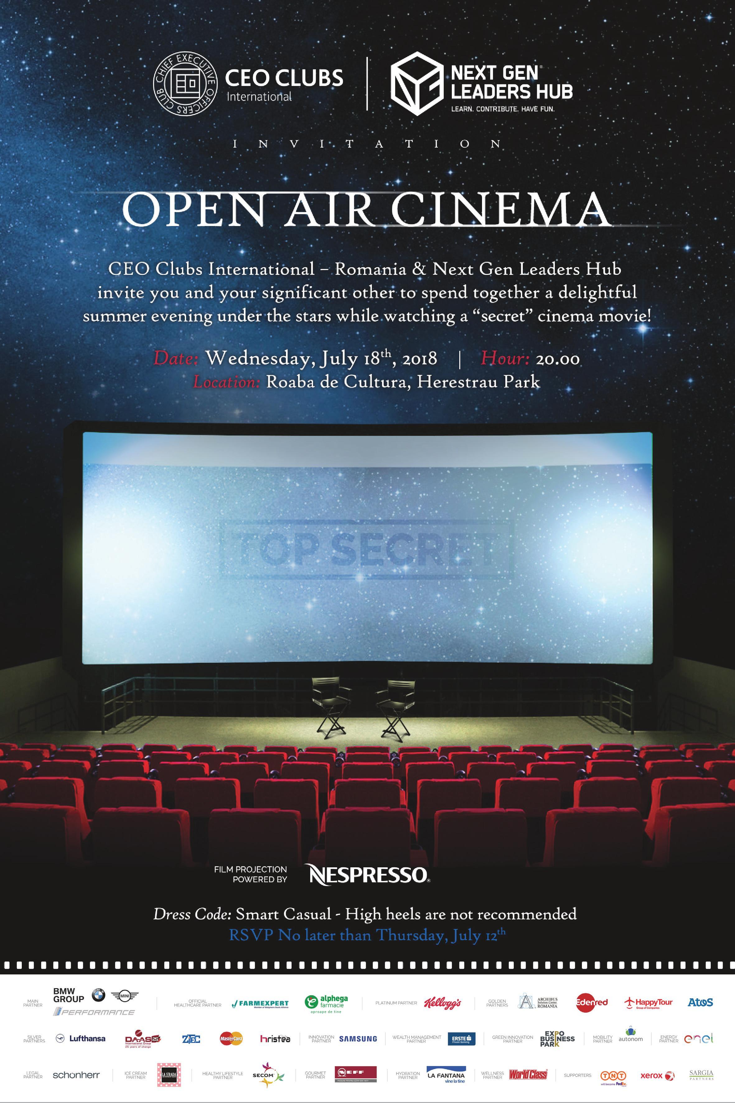2nd Open Air Cinema Evening