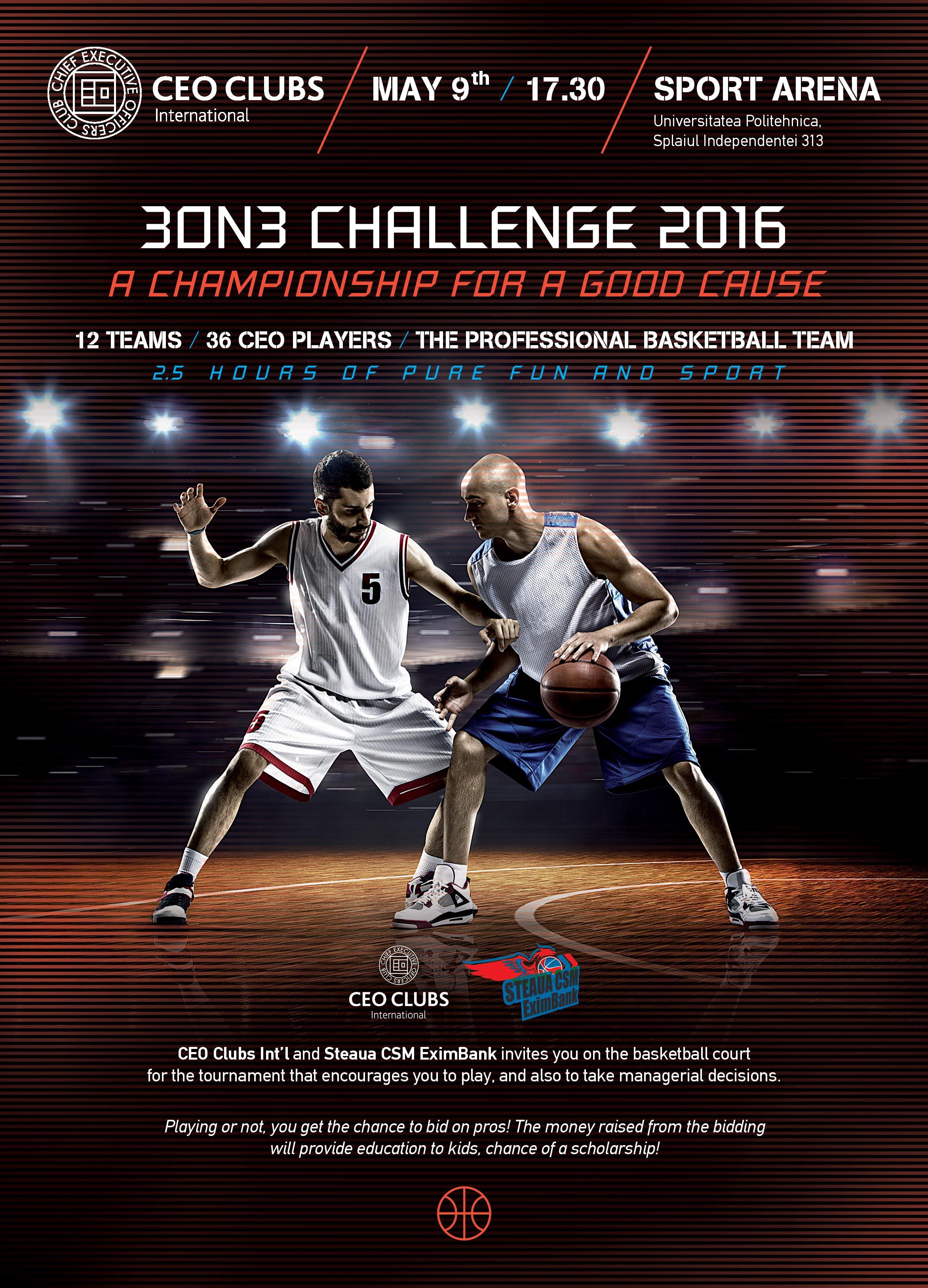 3on3 Basketball Challenge 2016