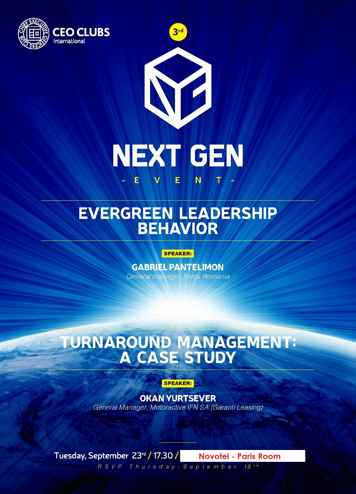 3rd Next Gen Event