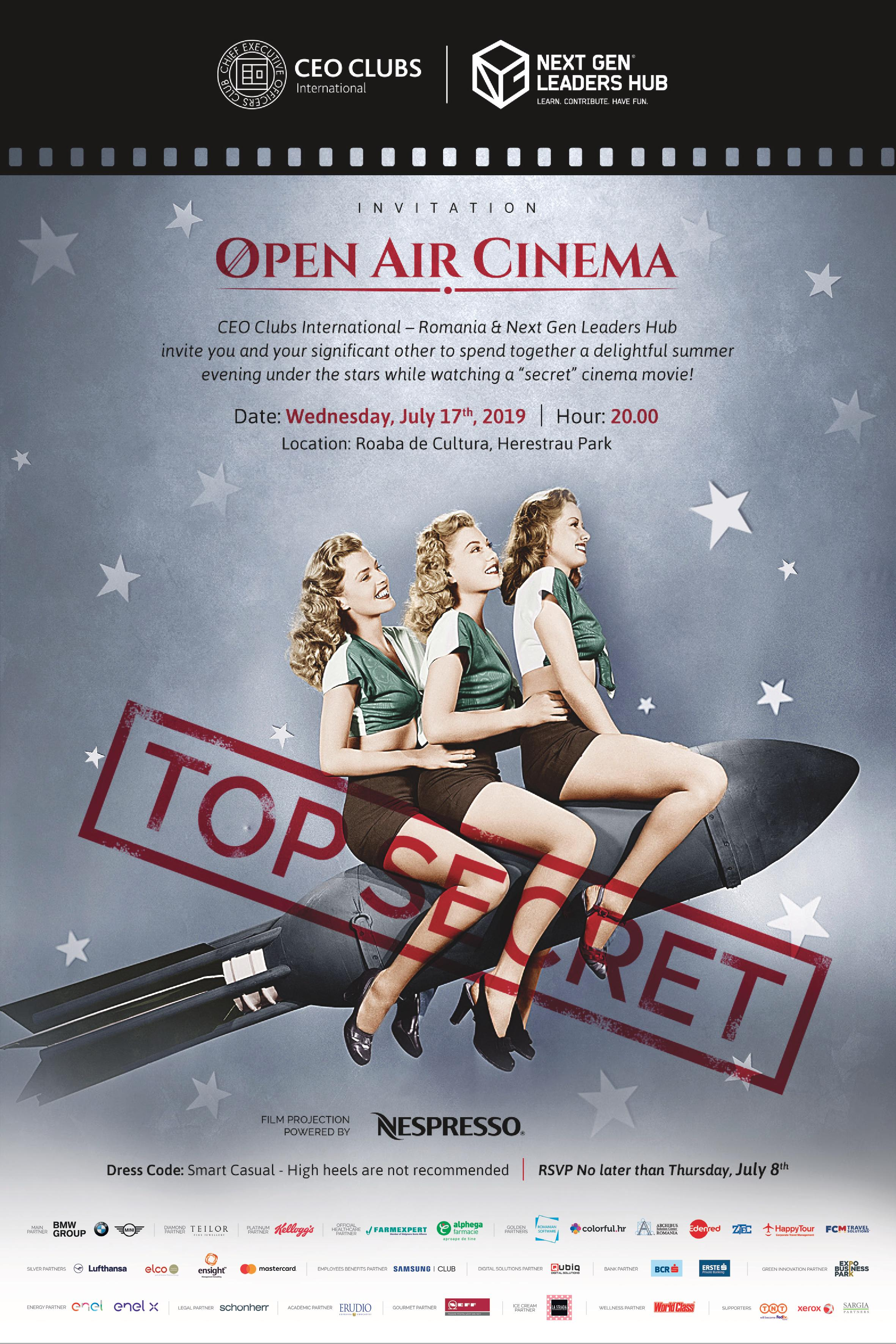 3rd Open Air Cinema Evening