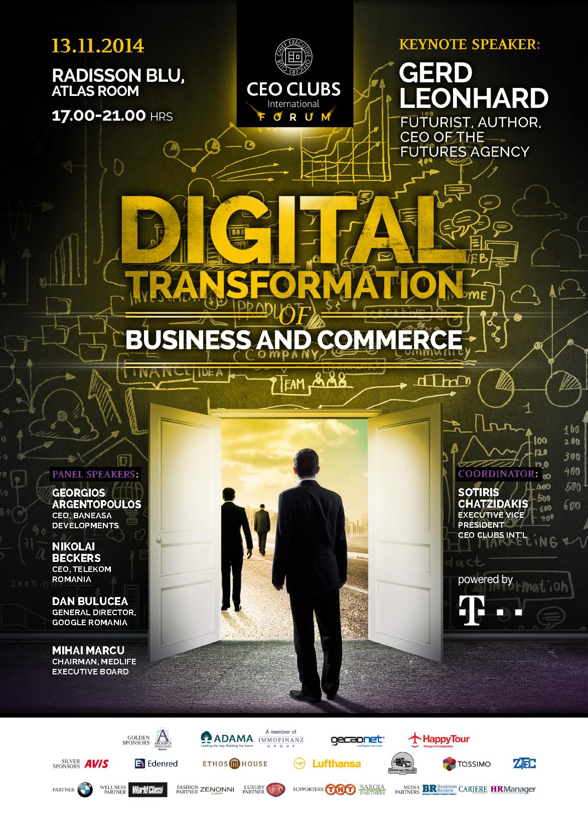 6th CEO Clubs Forum: Digital Transformation of Business and Commerce