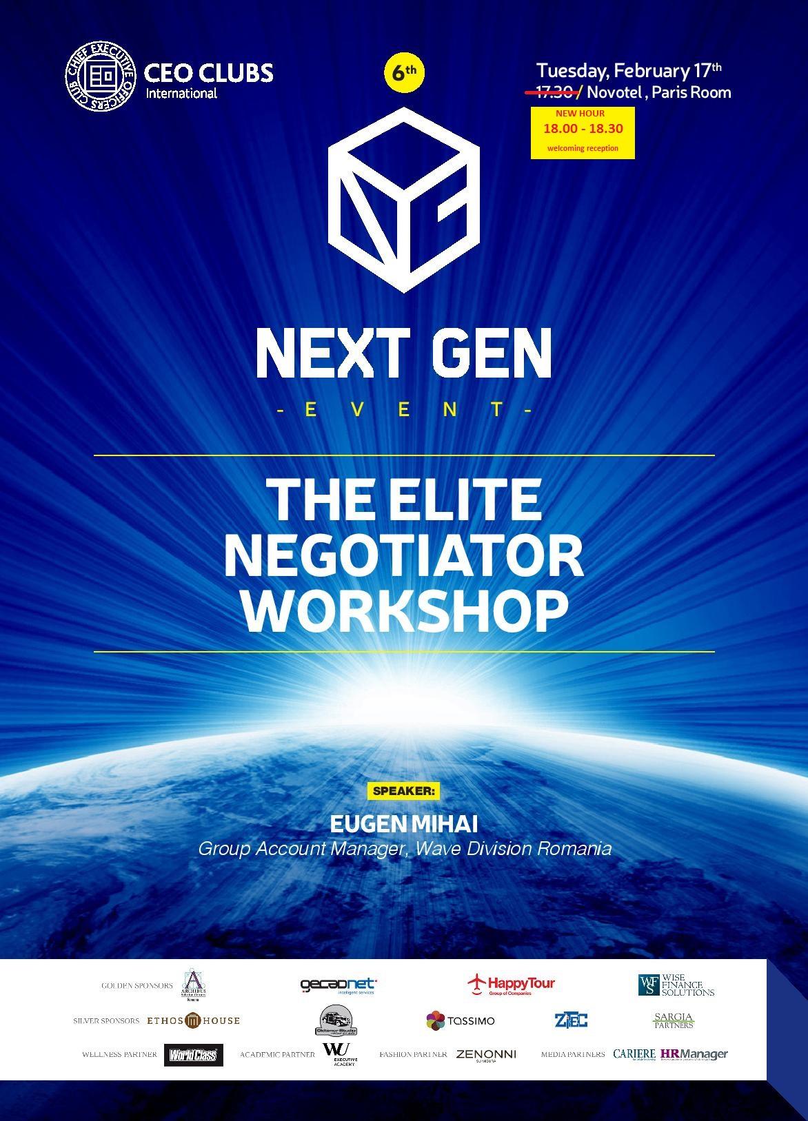6th Next Gen Event