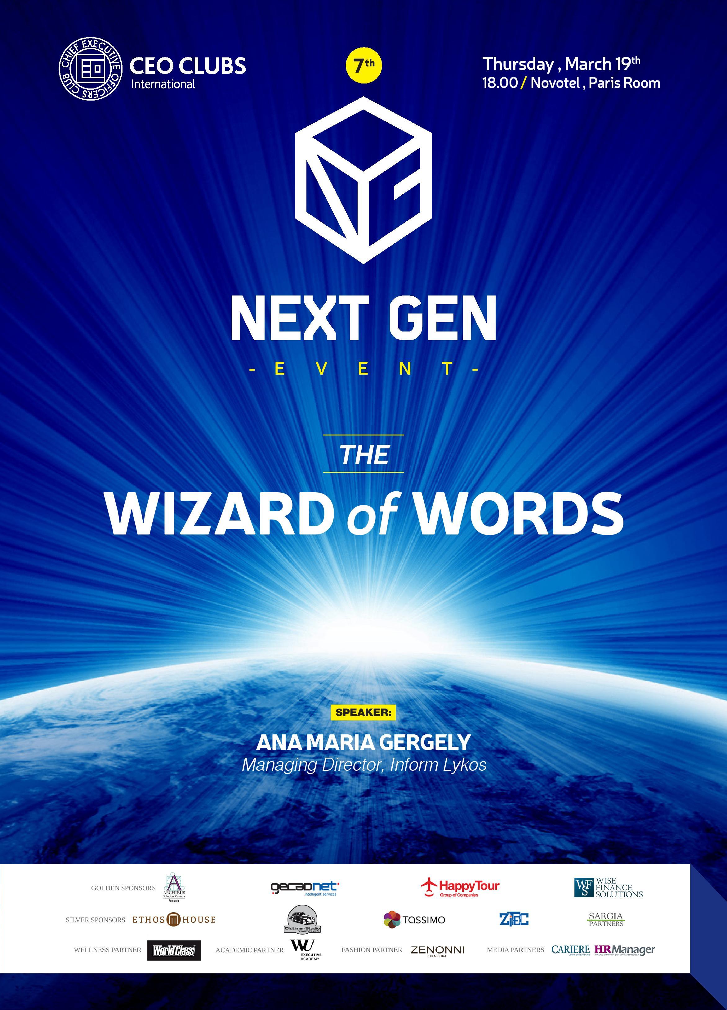 7th Next Gent Event