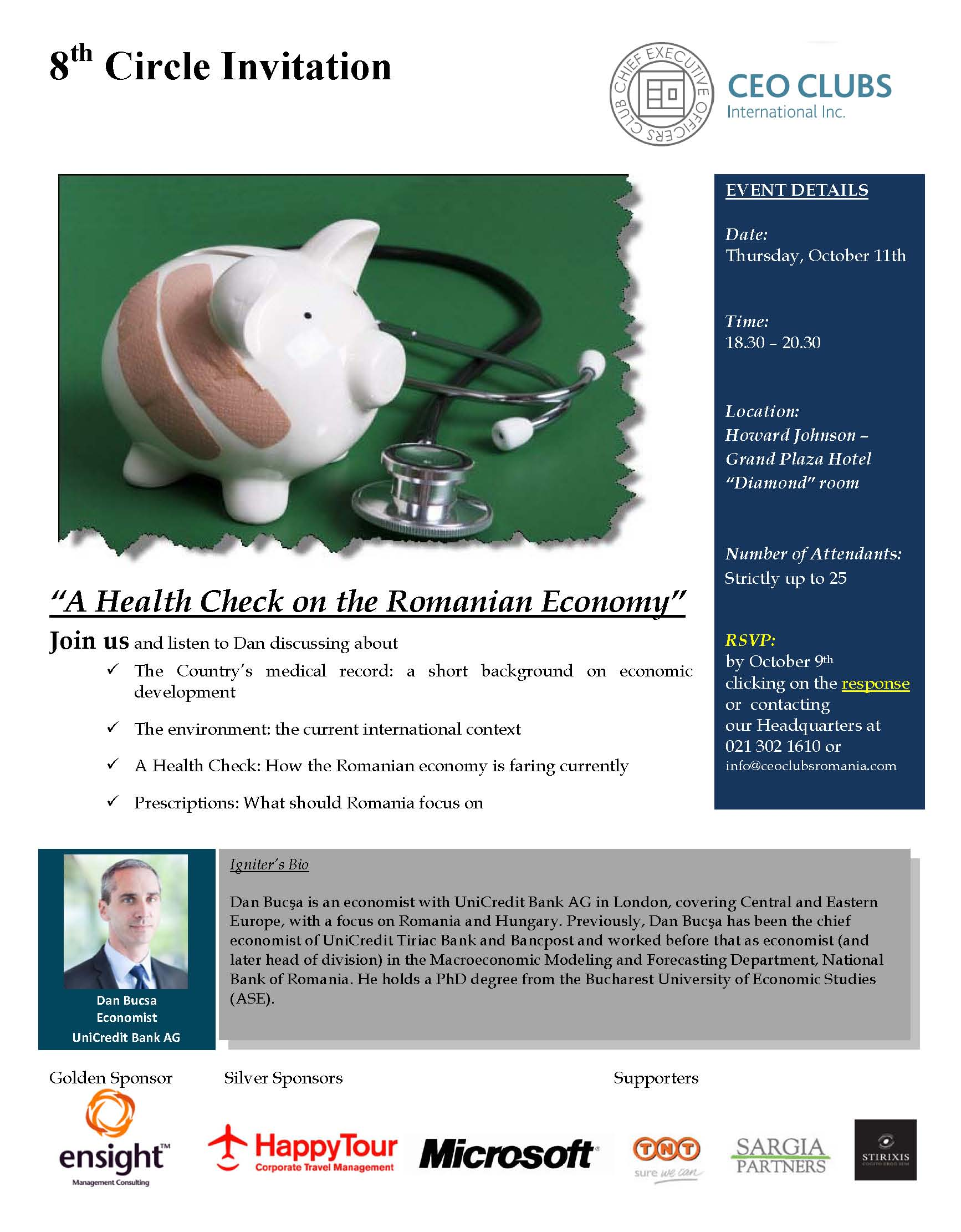 8th Circle: A Health Check on the Romanian Economy
