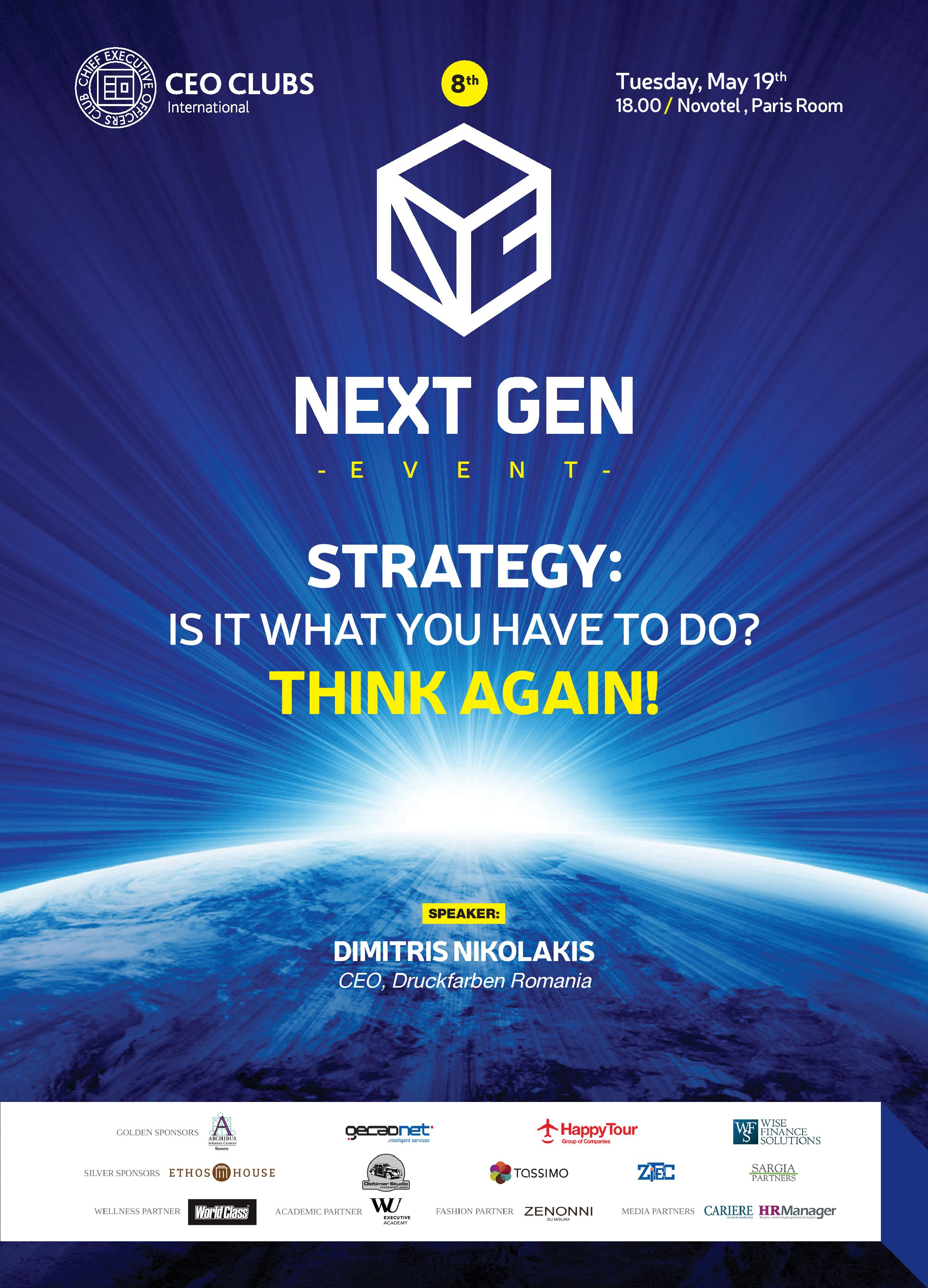 8th Next Gen Event