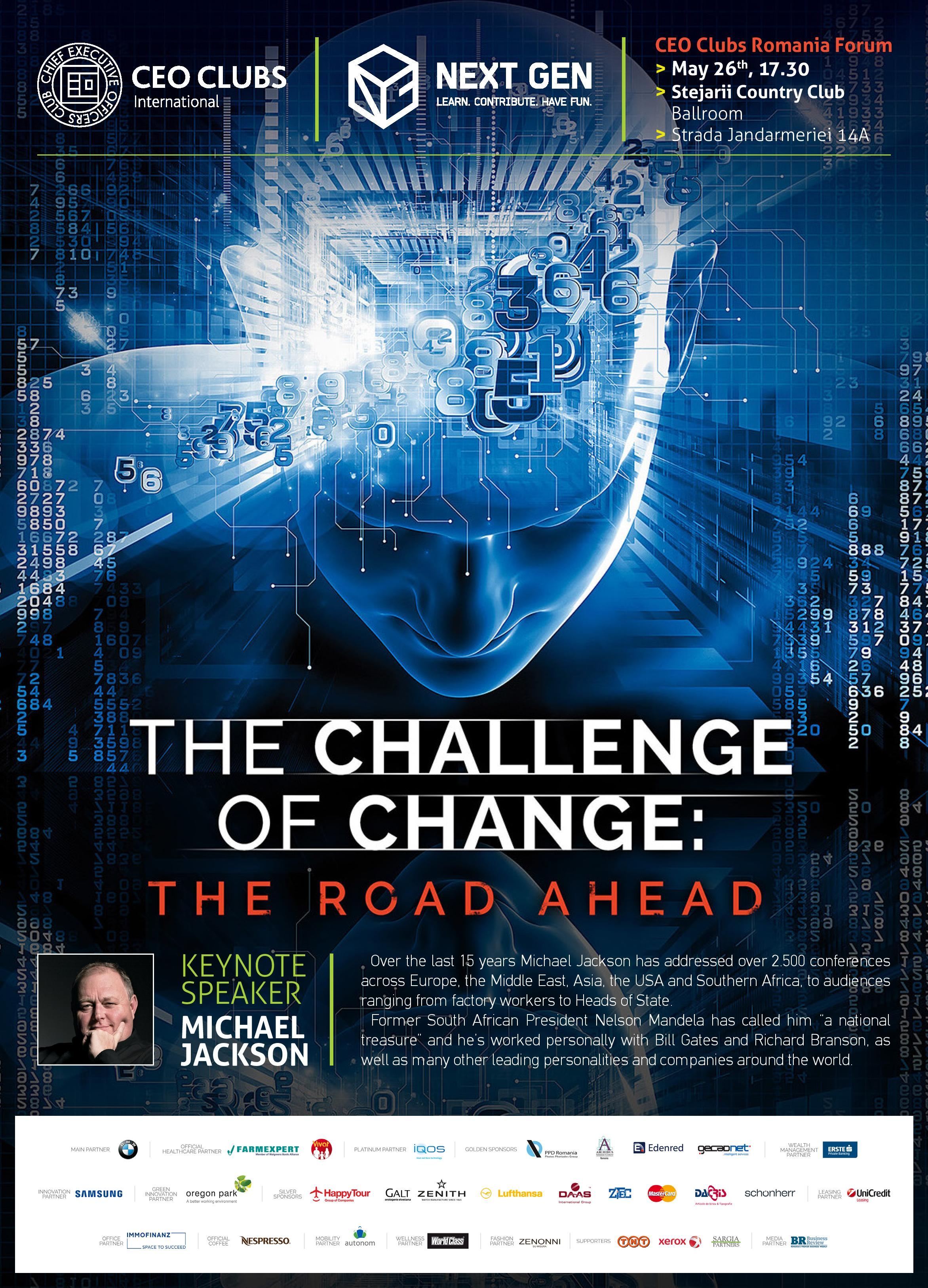 9th Forum: The Challenge of Change: The Road Ahead