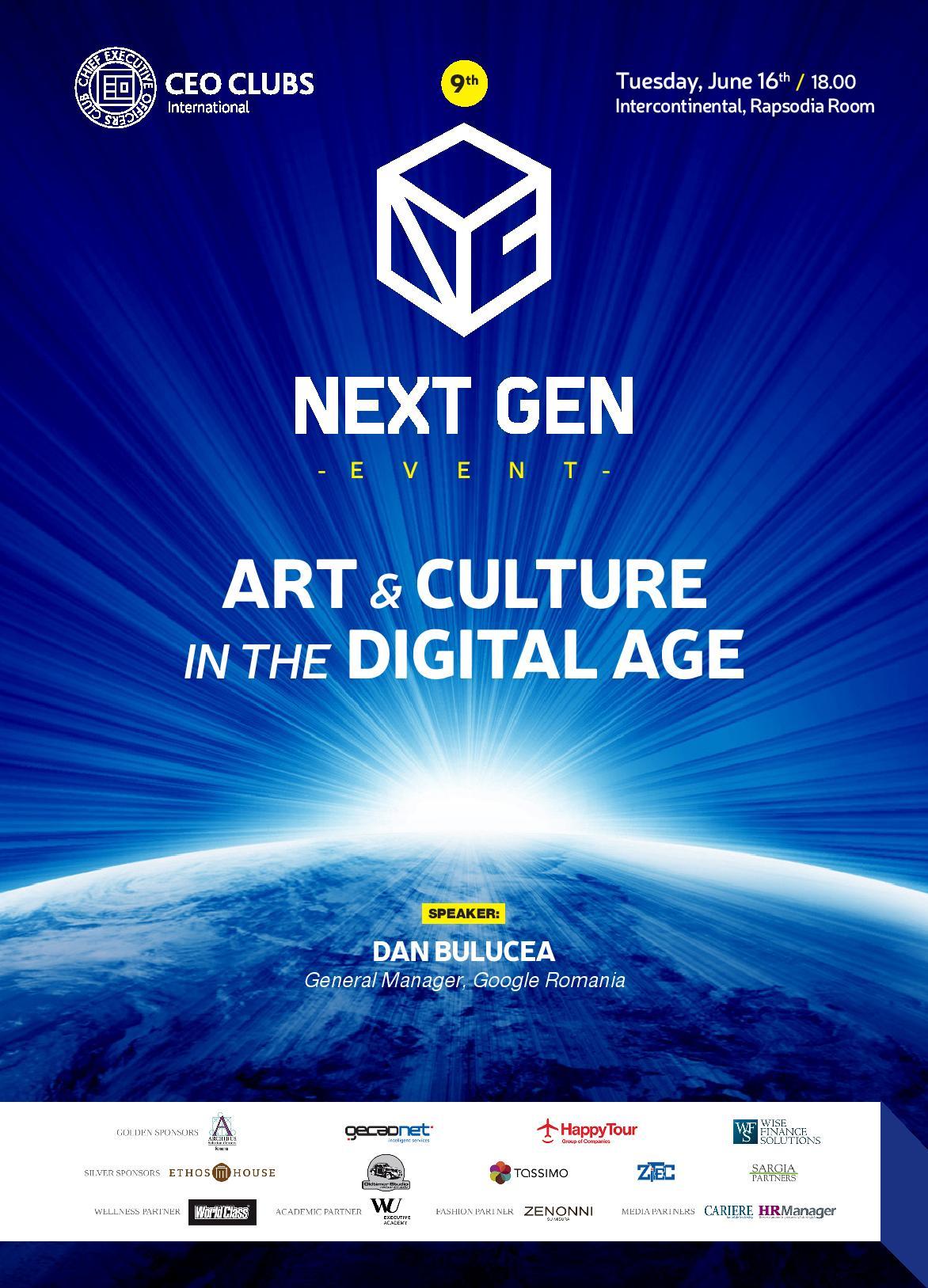9th Next Gen Event