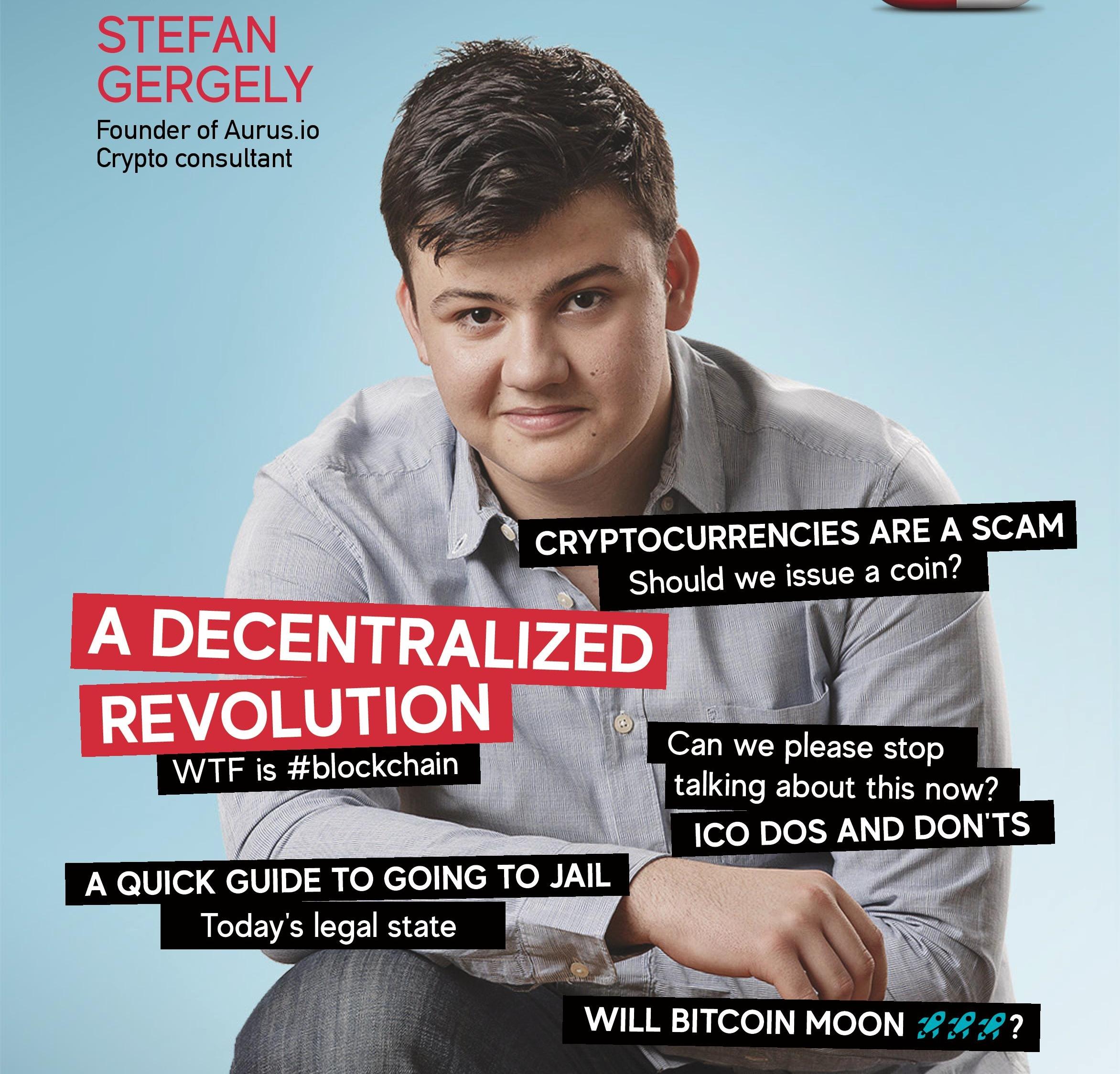 A decentralized revolution