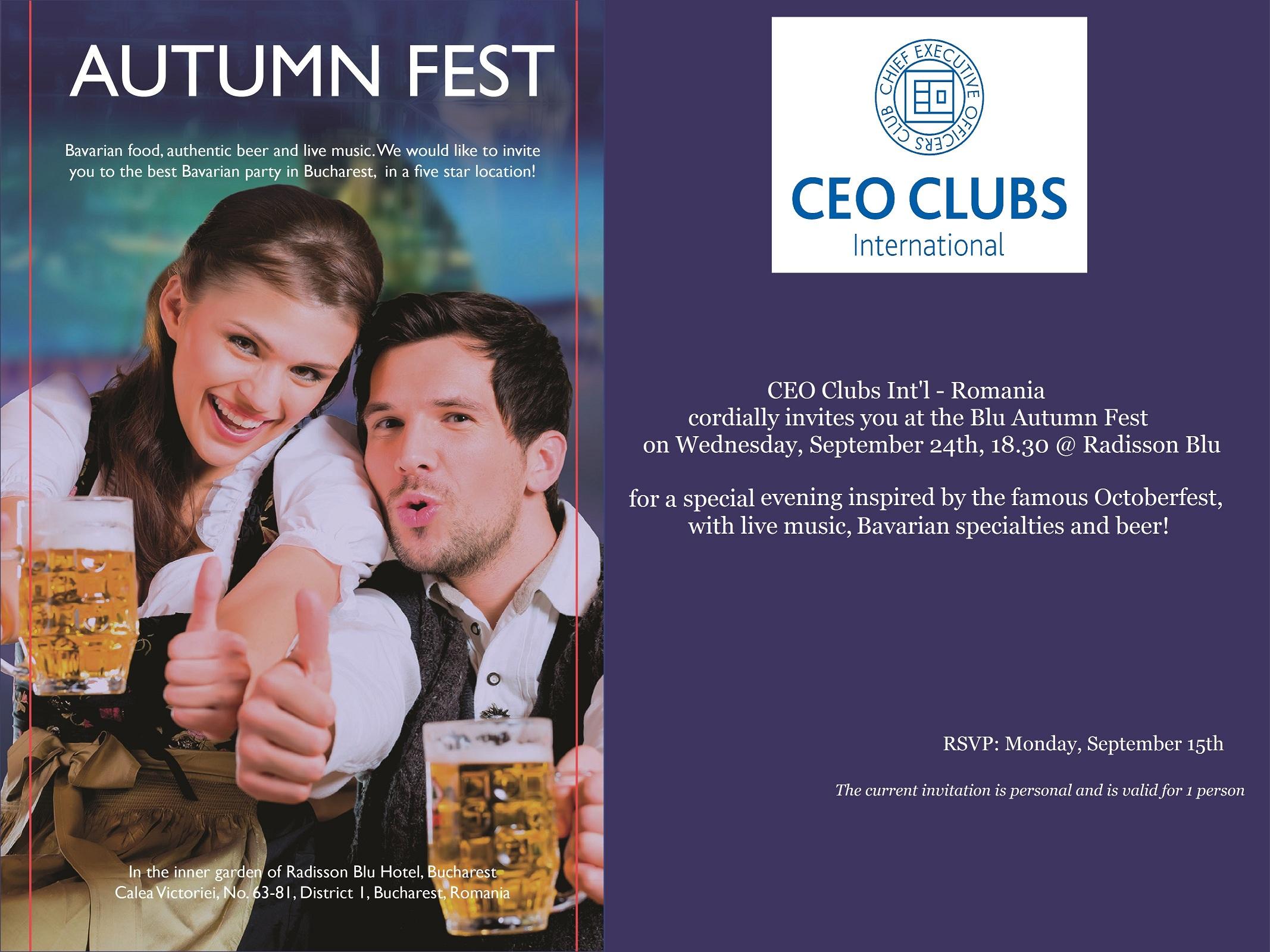Blu Autumn Fest
