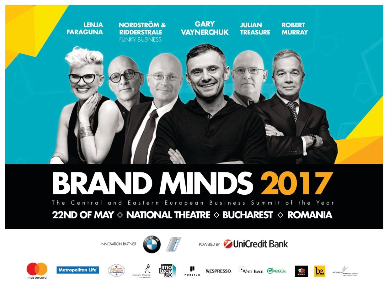 Brand Minds - The Central and Eastern European Business Summit of the Year