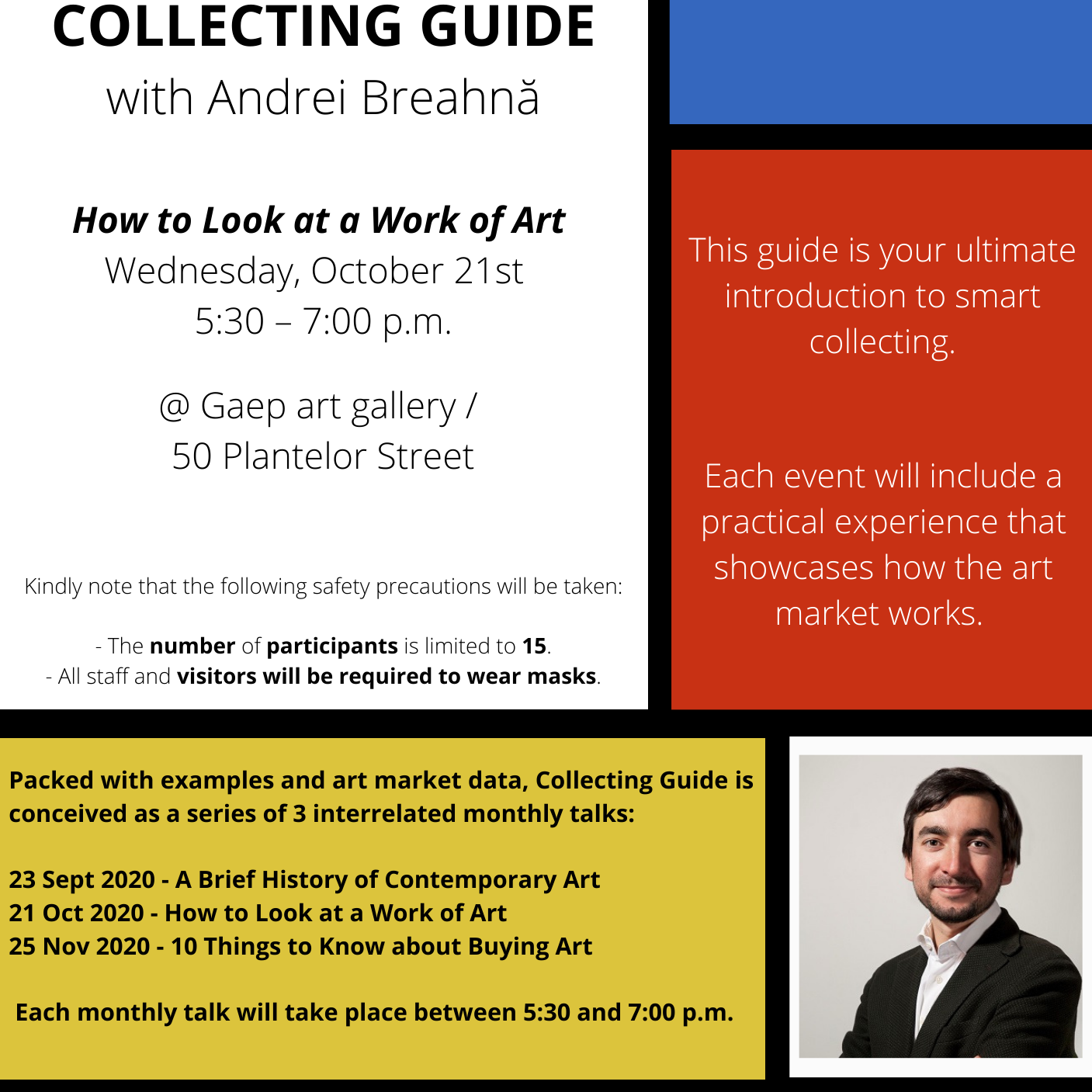 COLLECTING GUIDE - How to Look at a Work of Art
