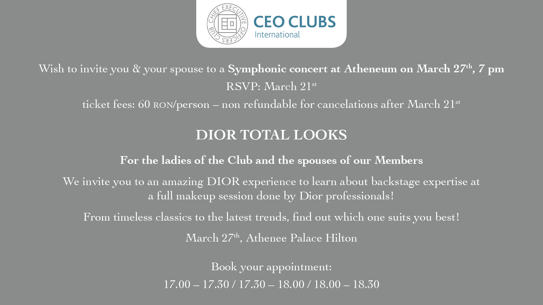 Dior Experience & Concert