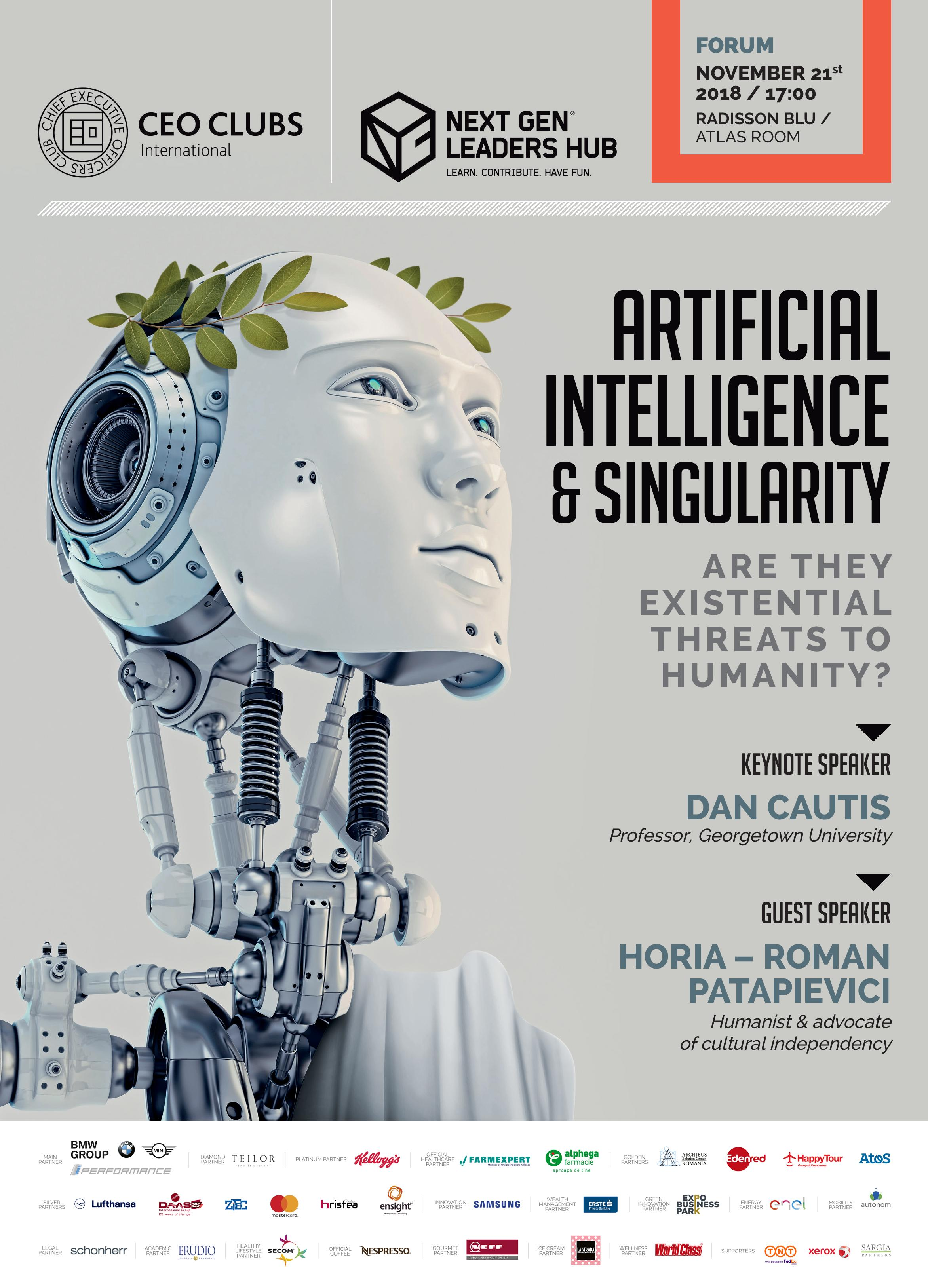 FULLY BOOKED: 14th Forum: Artificial Intelligence & Singularity