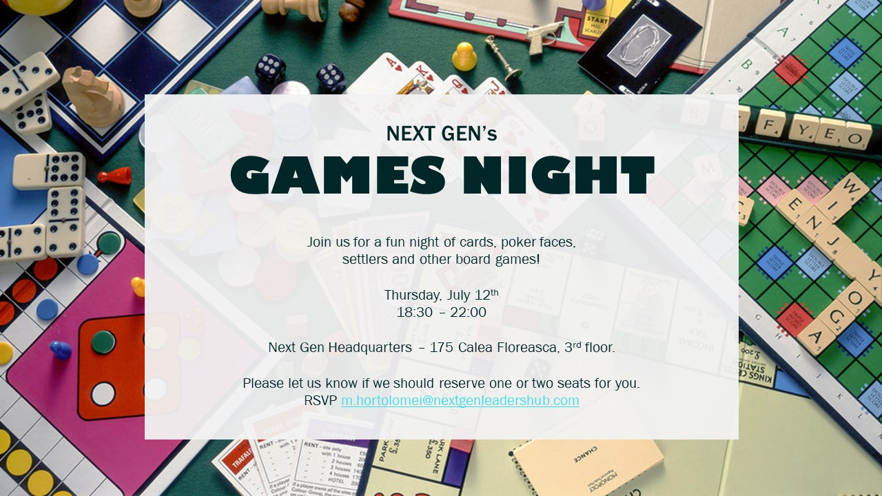 Games Night: Episode 1