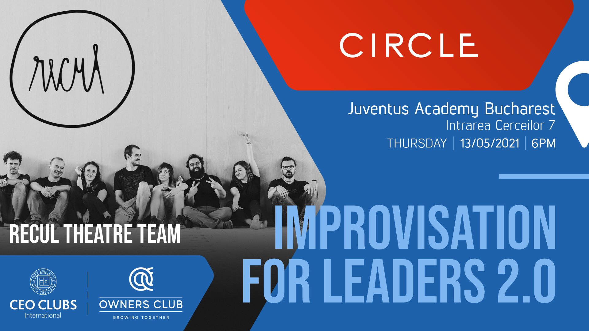 Live Circle - Improvisation for leaders 2.0