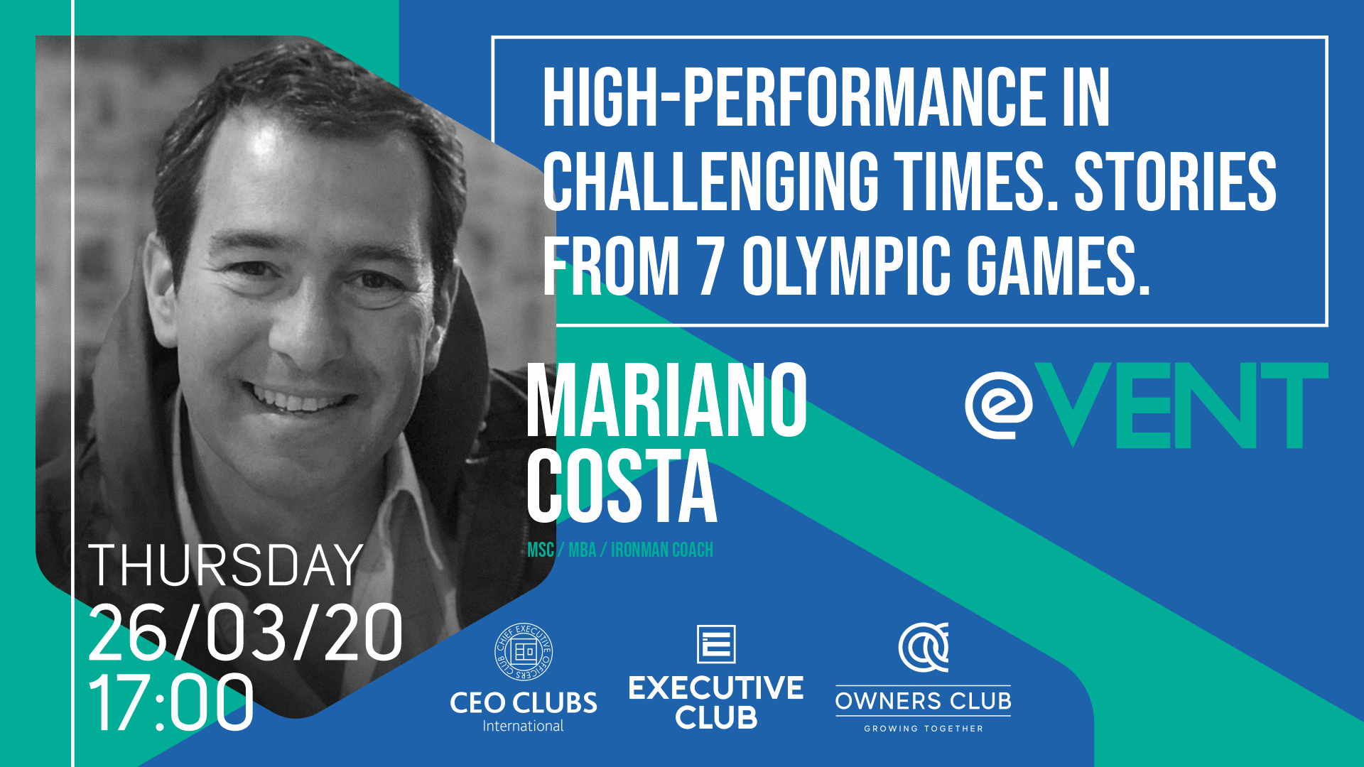 Live on Zoom: High-Performance in Challenging Times. Stories from 7 Olympic Games
