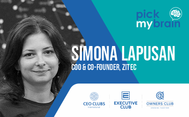 Live on Zoom: Pick my Brain - with Simona Lapusan