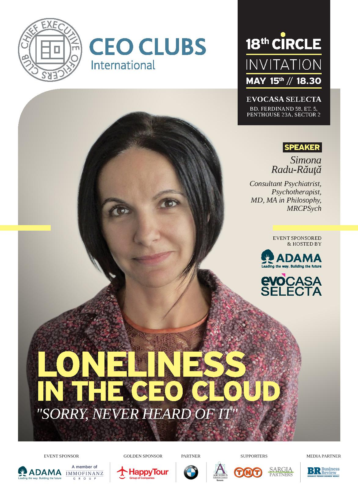 "18th Circle: Loneliness in the CEO Cloud: ""Sorry, never heard of it"""