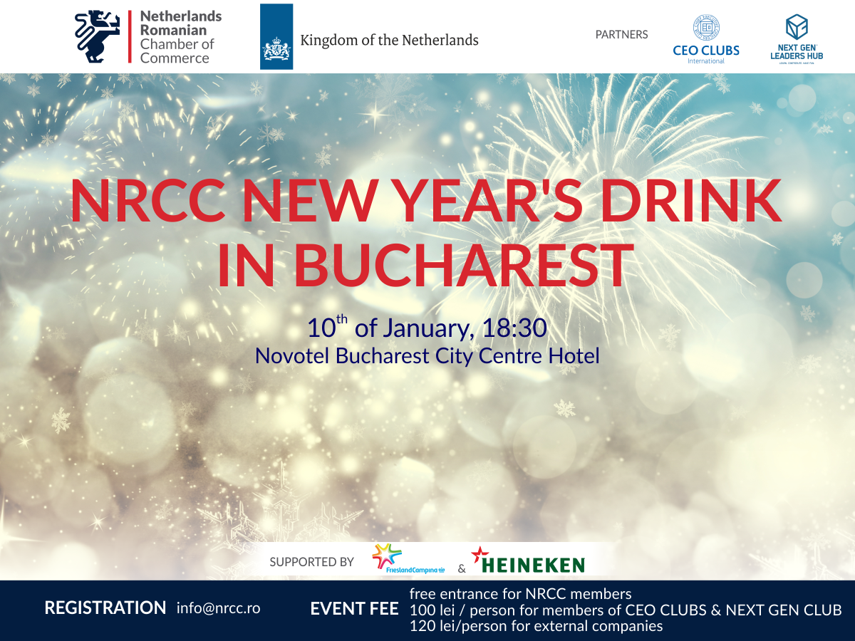 NRCC New Year's Drink in Bucharest