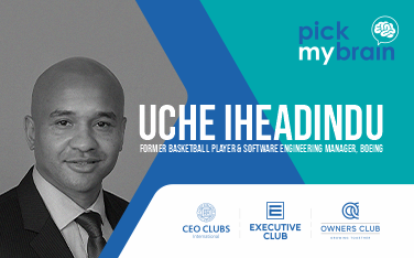 Online meeting - Pick my Brain with Uche Iheadindu