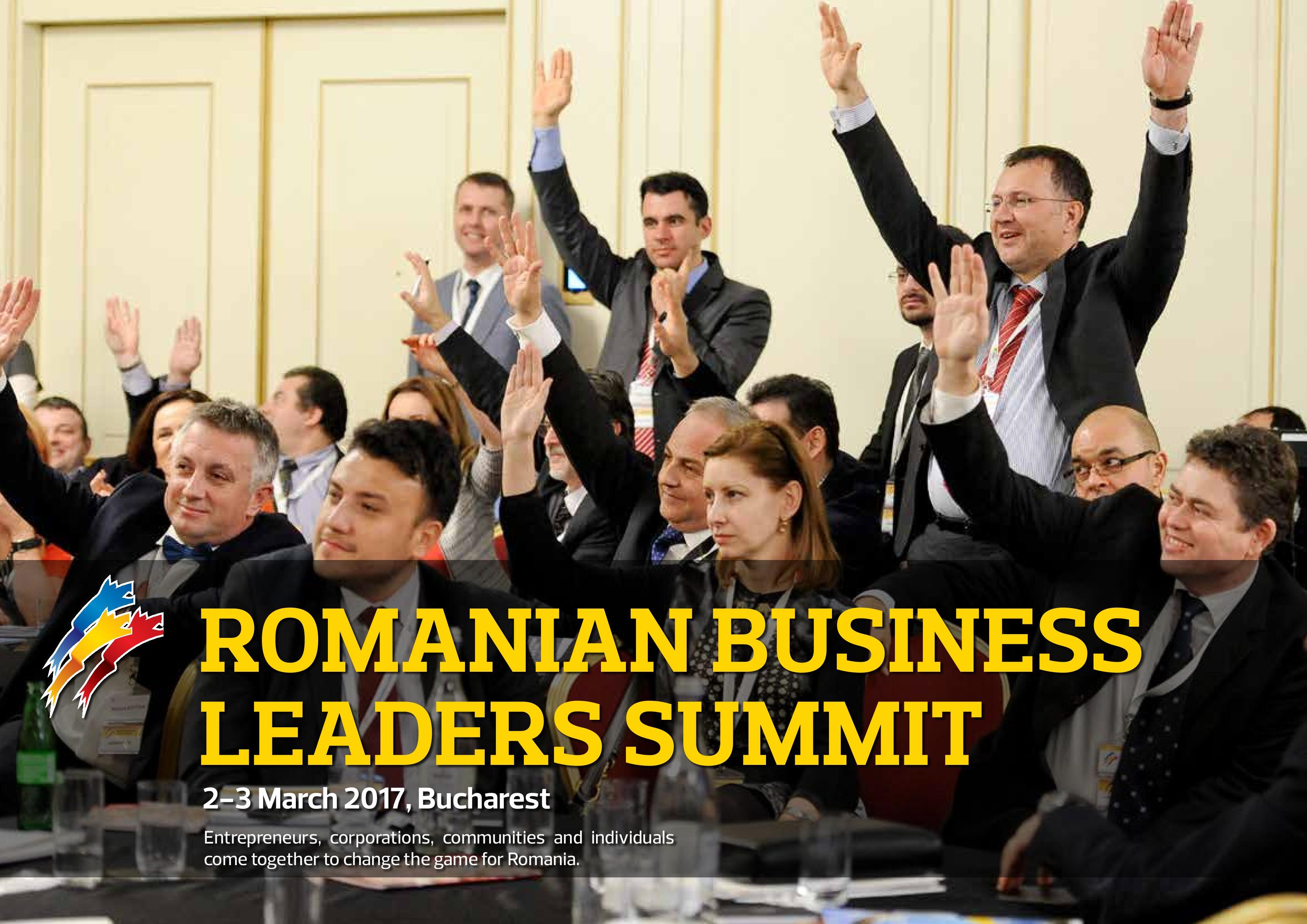 Romanian Business Leaders Summit 2017