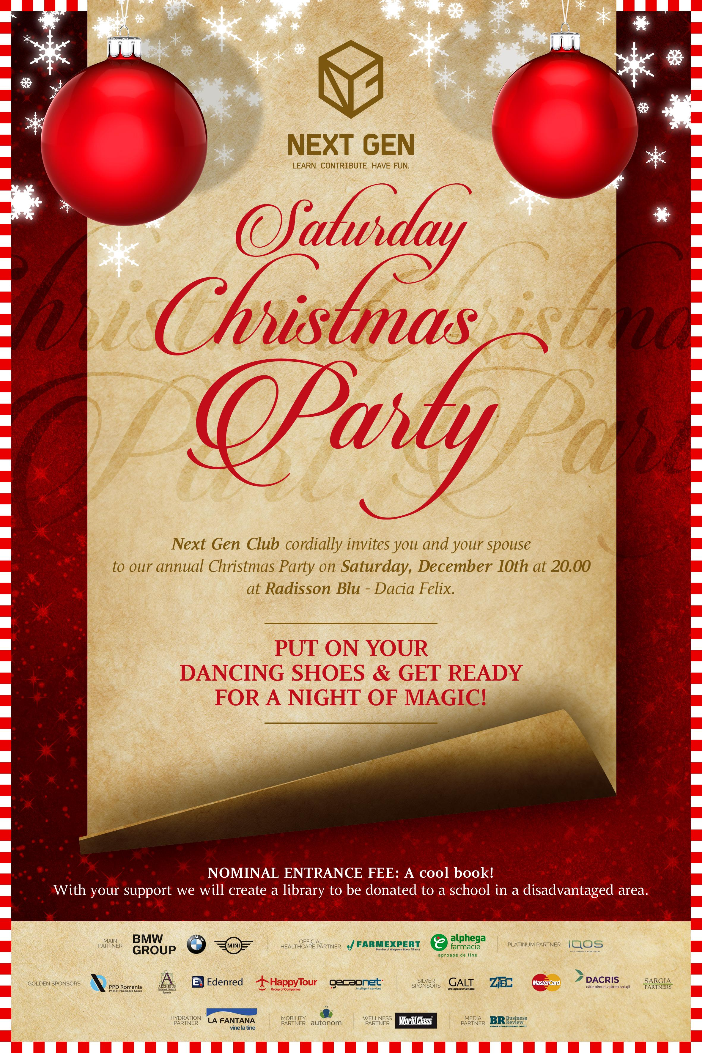 Saturday Christmas Party