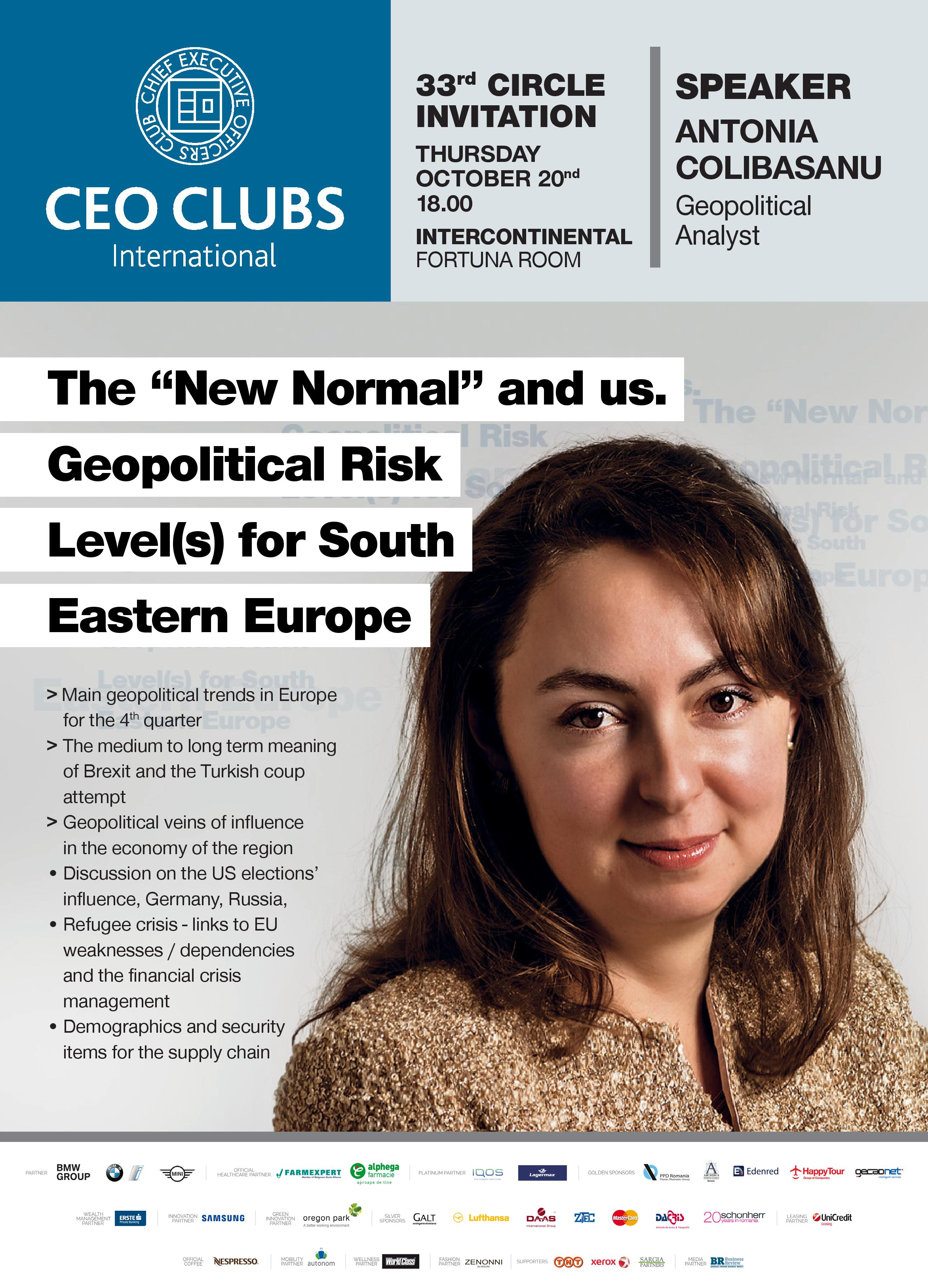 "The 33rd Circle: The ""New Normal"" and us"