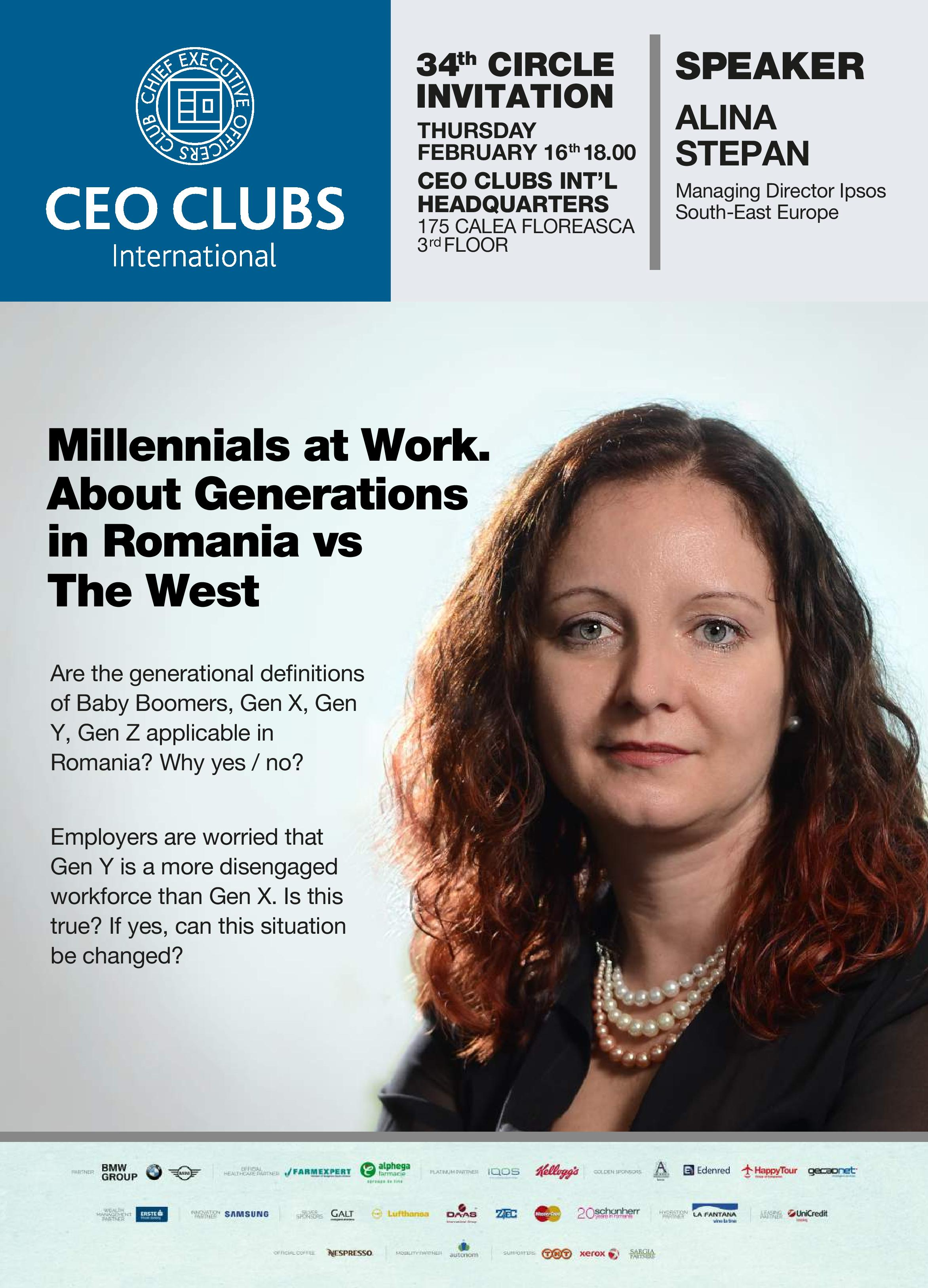 The 34th Circle: Millennials at Work