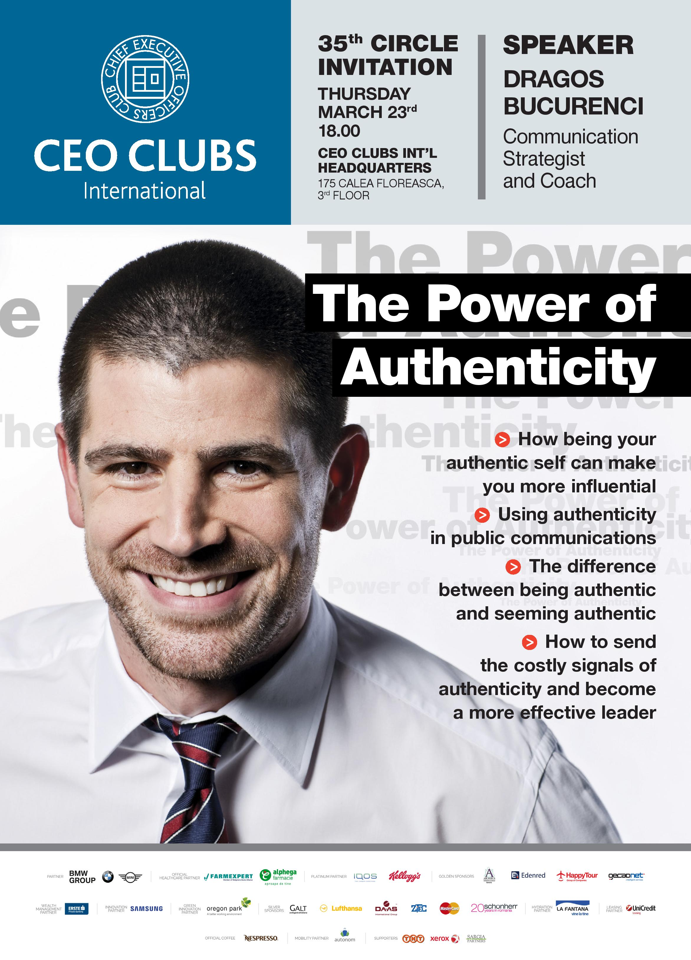 The 35th Circle: The Power of Authenticity