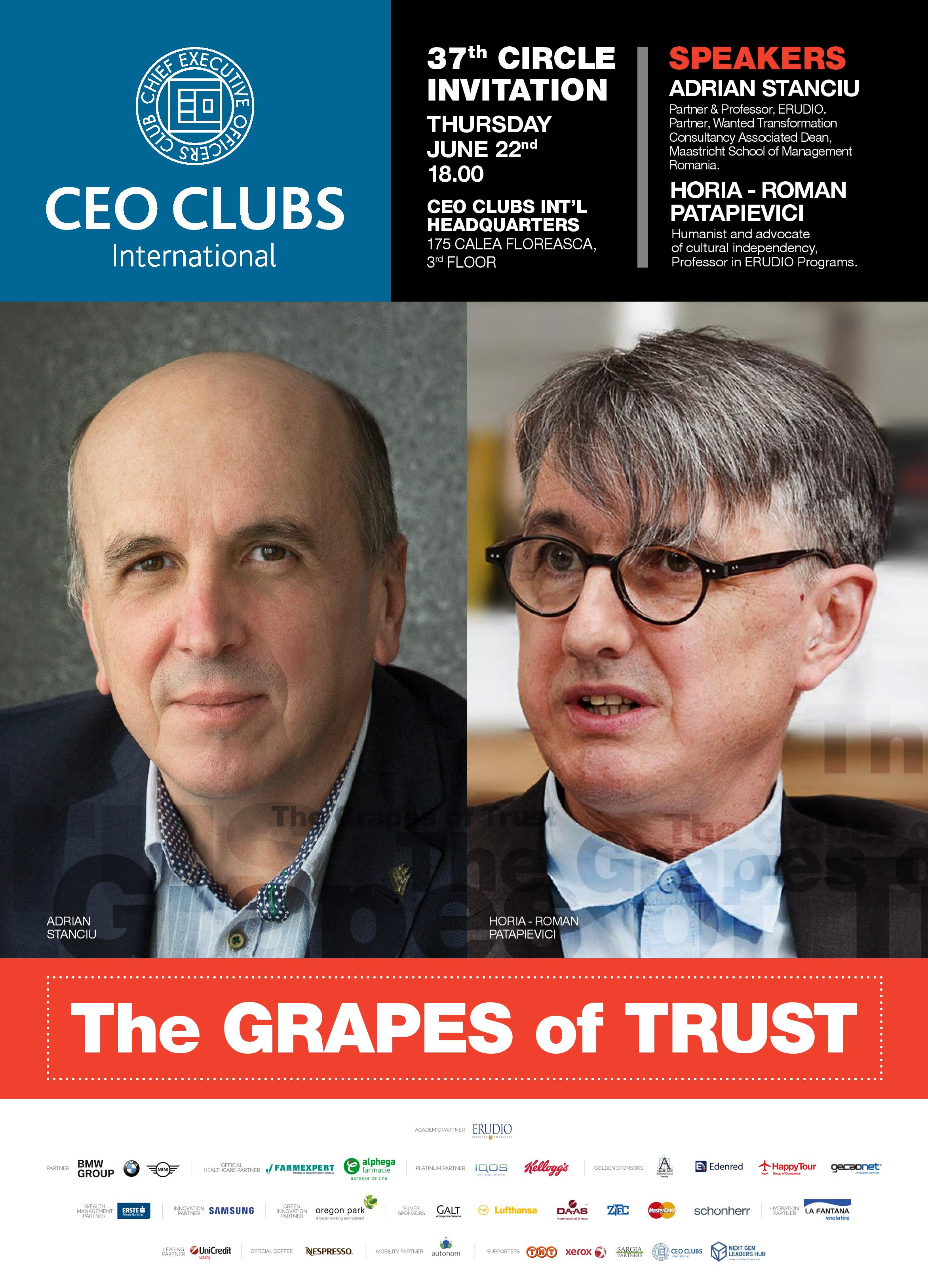 The 37th Circle: The Grapes of Trust