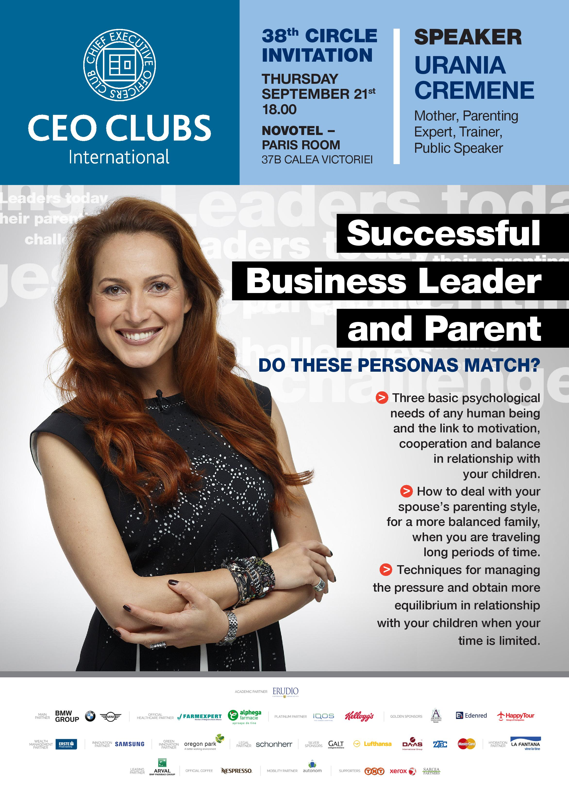 The 38th Circle: Successful Business Leader & Parent