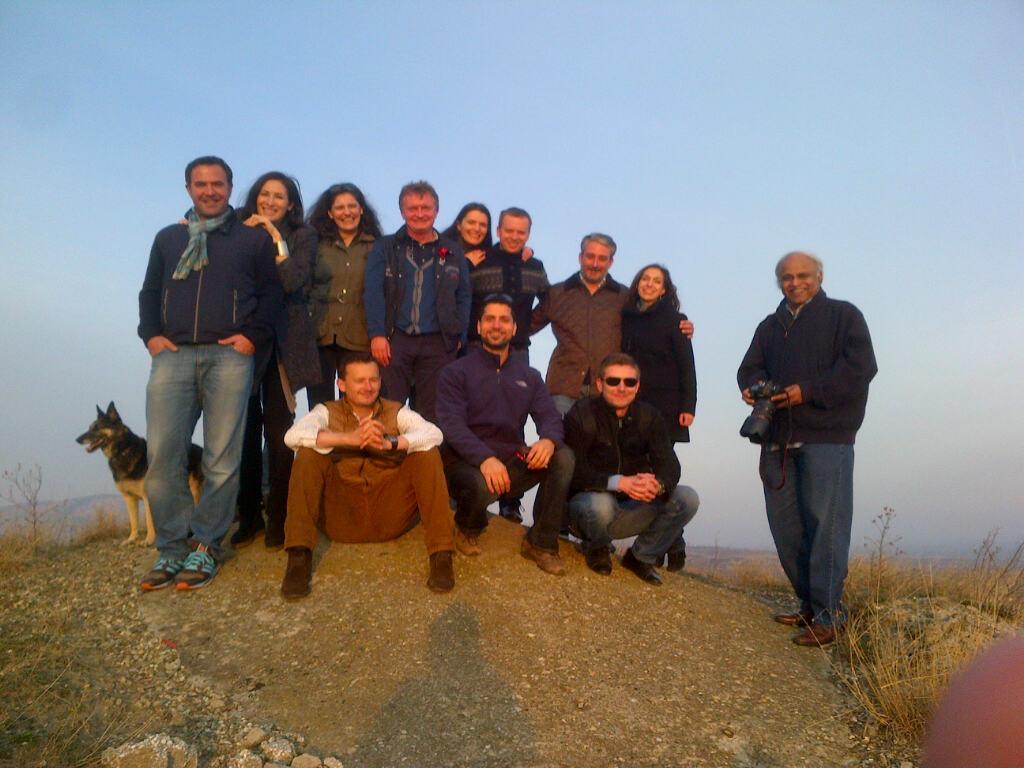 Visit at LacertA Winery 2013