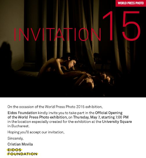 World Press Photo 2015 Exhibition